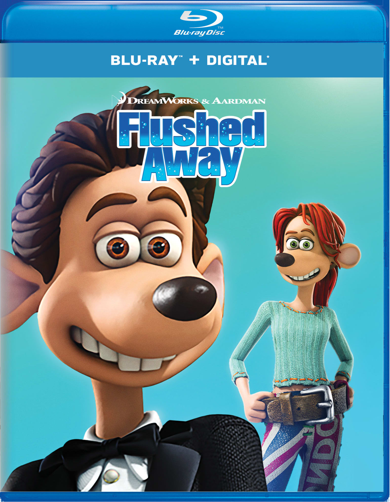 Flushed Away [Blu-ray]