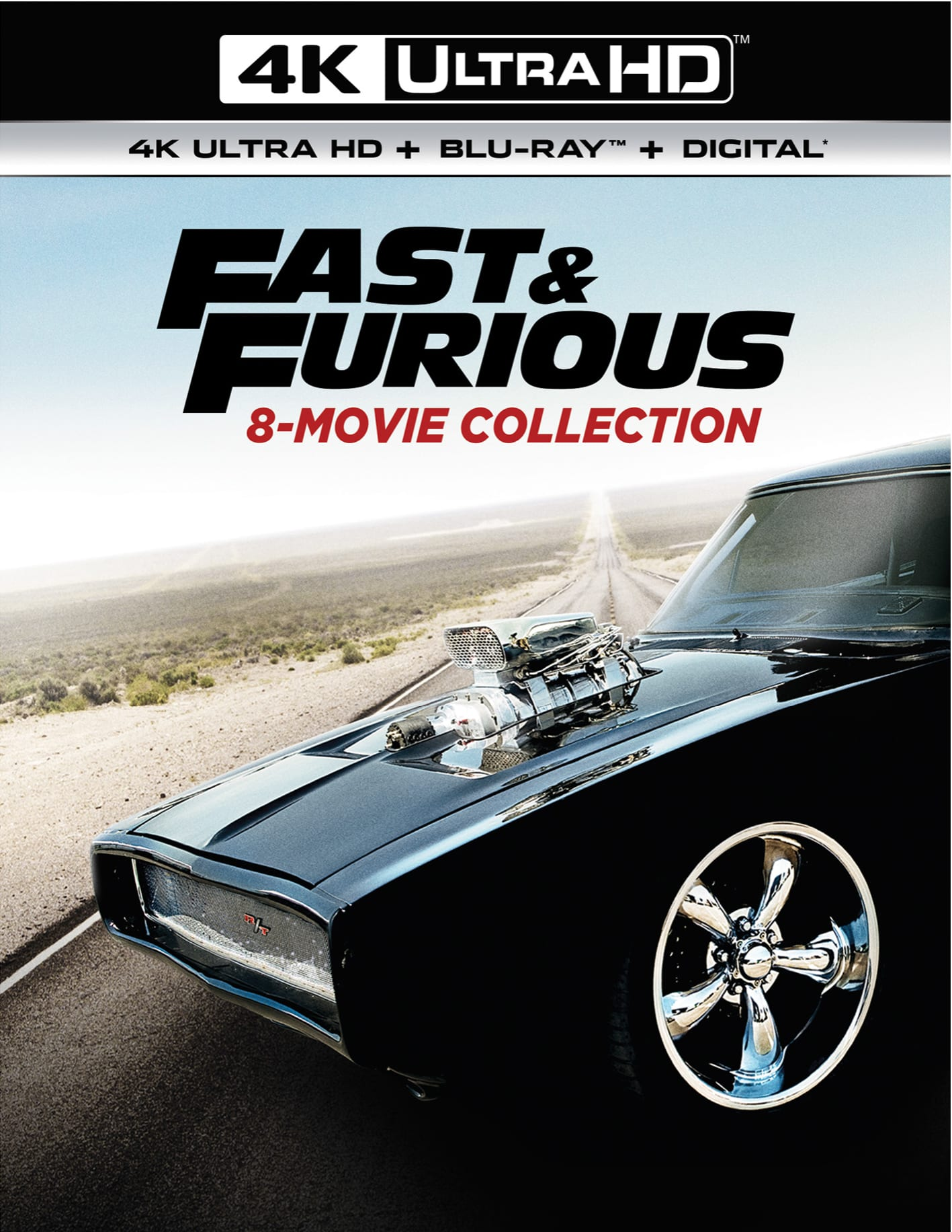 Fast & Furious: 8-movie Collection (4K Ultra HD) [UHD]