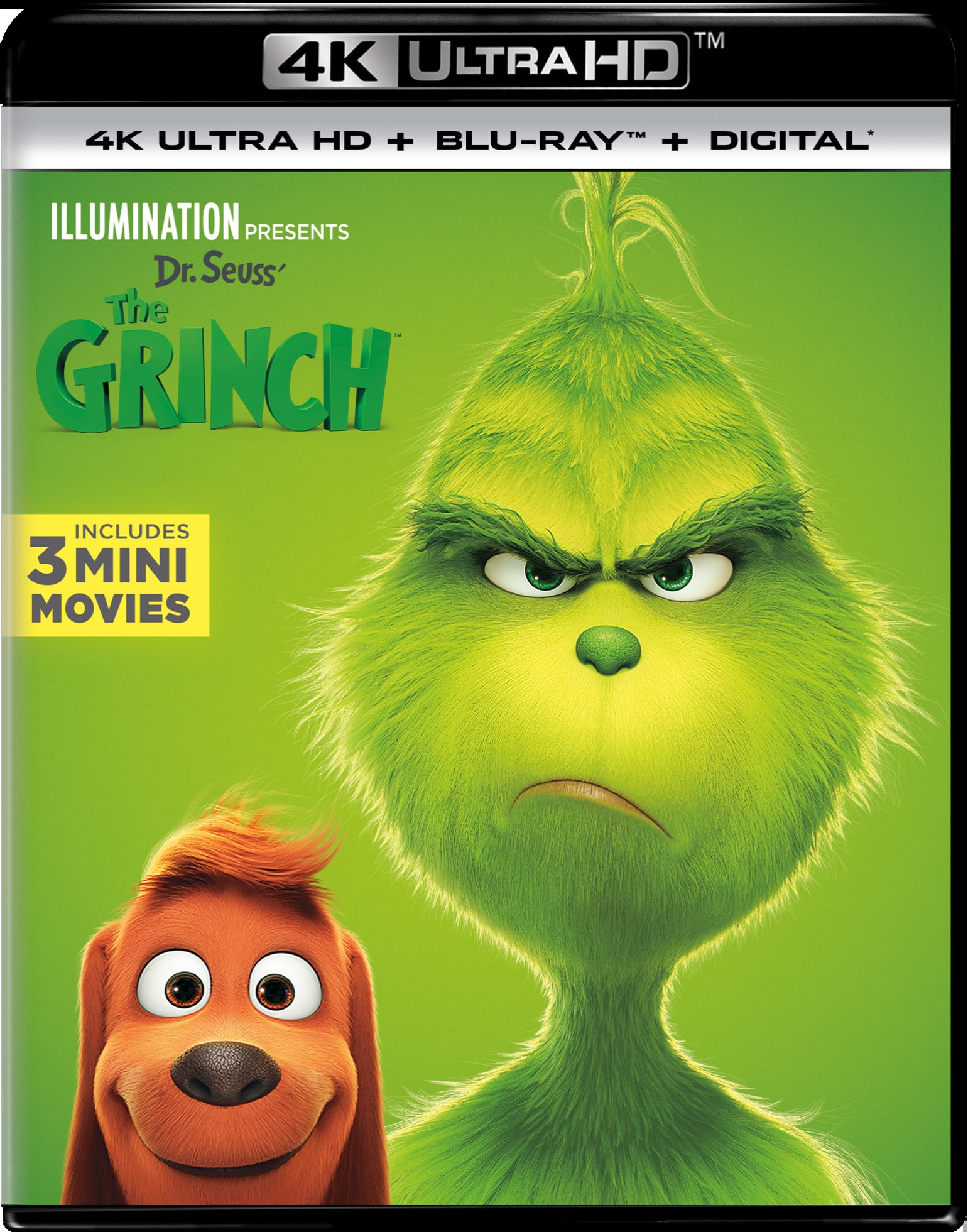 Illumination Presents: Dr. Seuss' The Grinch (4K Ultra HD + Digital) [UHD]