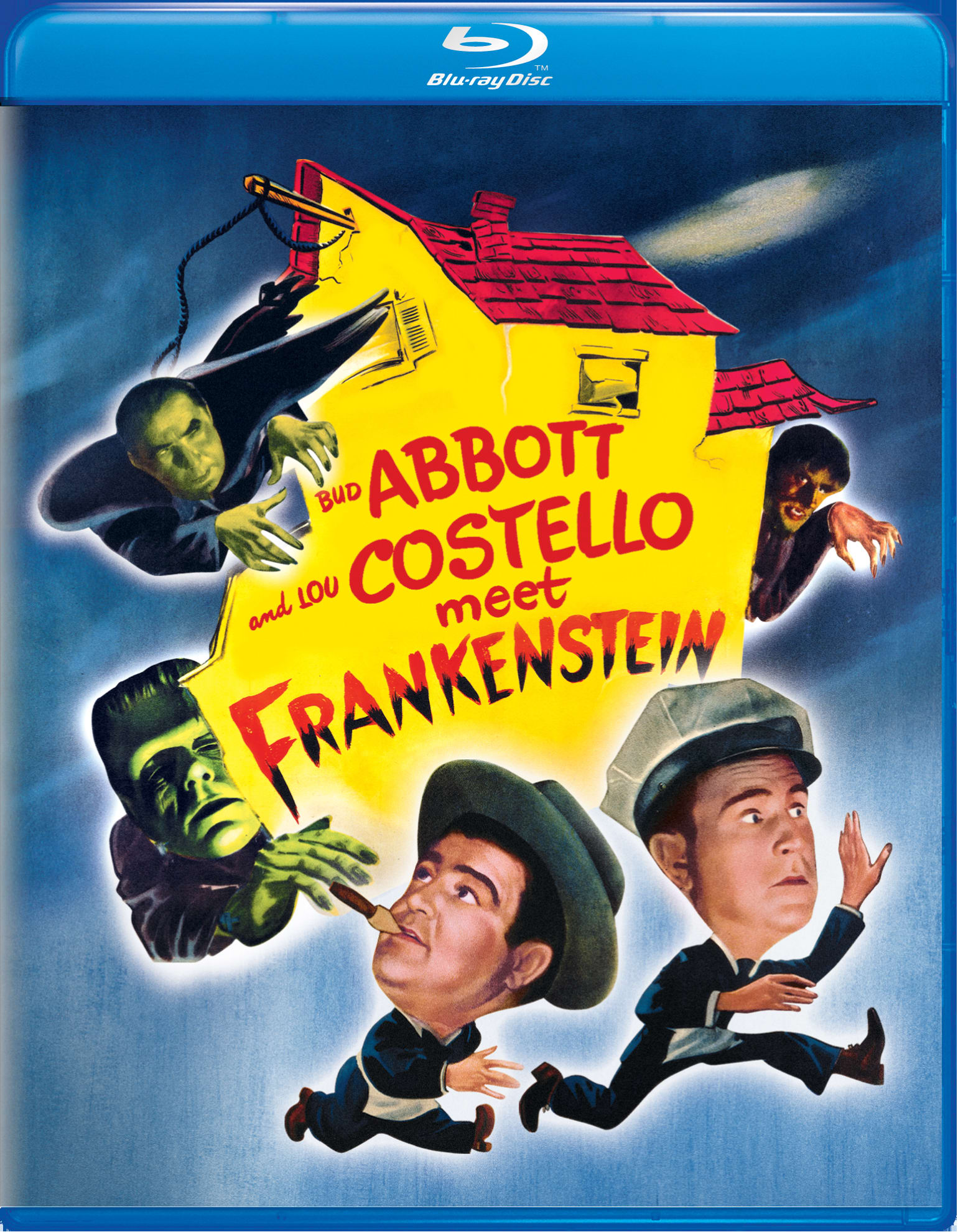 Abbott and Costello Meet Frankenstein [Blu-ray]