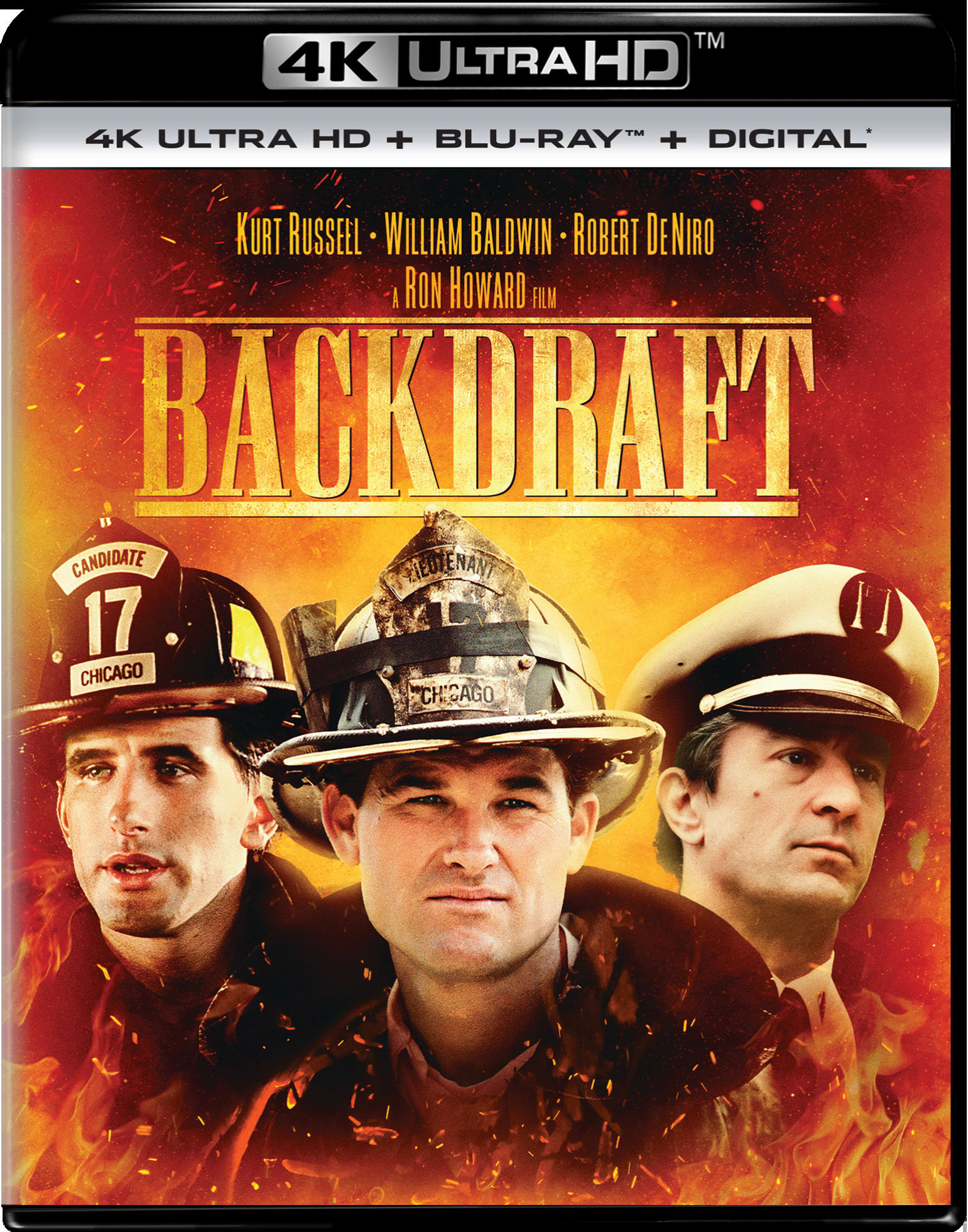 Backdraft (4K Ultra HD) [UHD]
