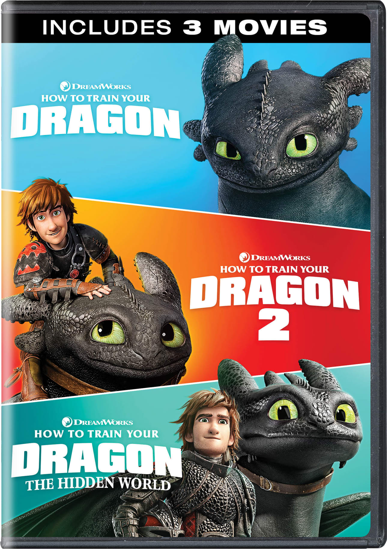 How To Train Your Dragon: 3-Movie Collection [DVD]