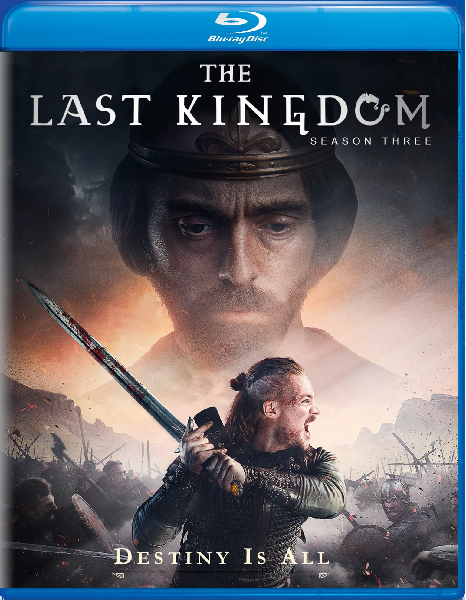 The Last Kingdom: Season Three [Blu-ray]