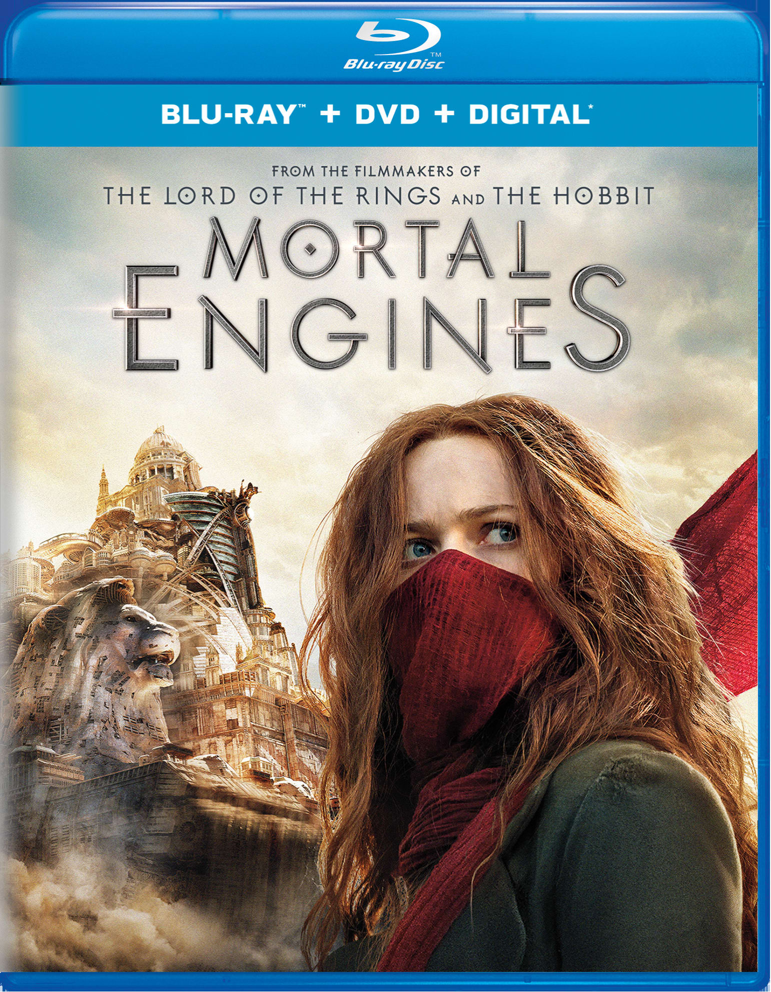 Mortal Engines (DVD + Digital) [Blu-ray]