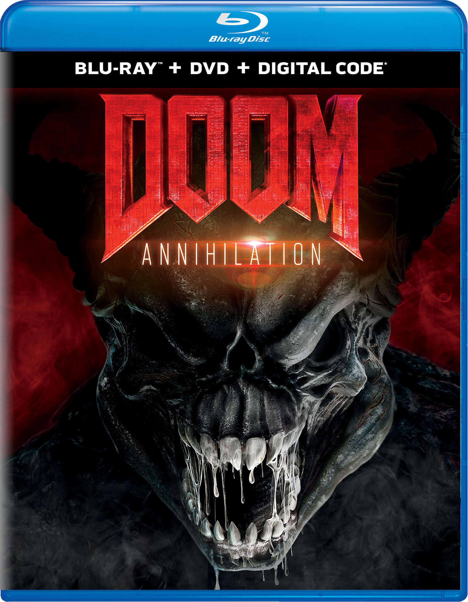 Doom: Annihilation (DVD + Digital) [Blu-ray]