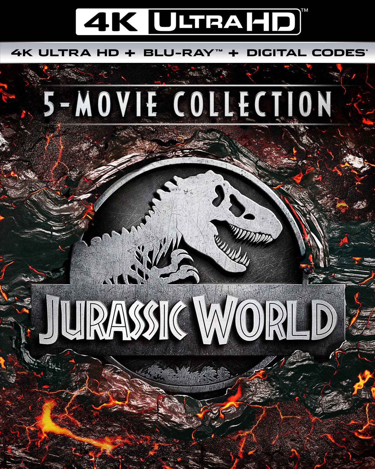 Jurassic World 5-Movie Collection (4K Ultra HD + Blu-Ray) [UHD]
