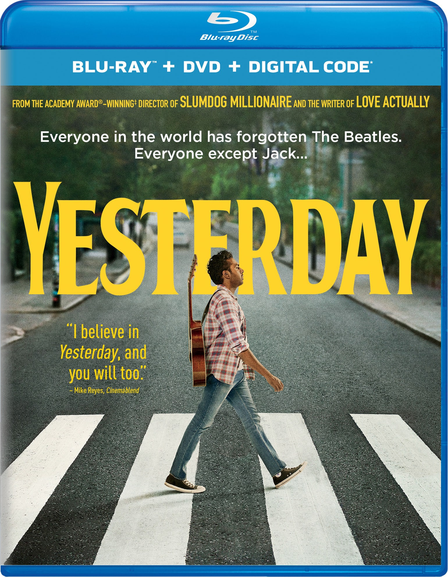 Yesterday (DVD + Digital) [Blu-ray]