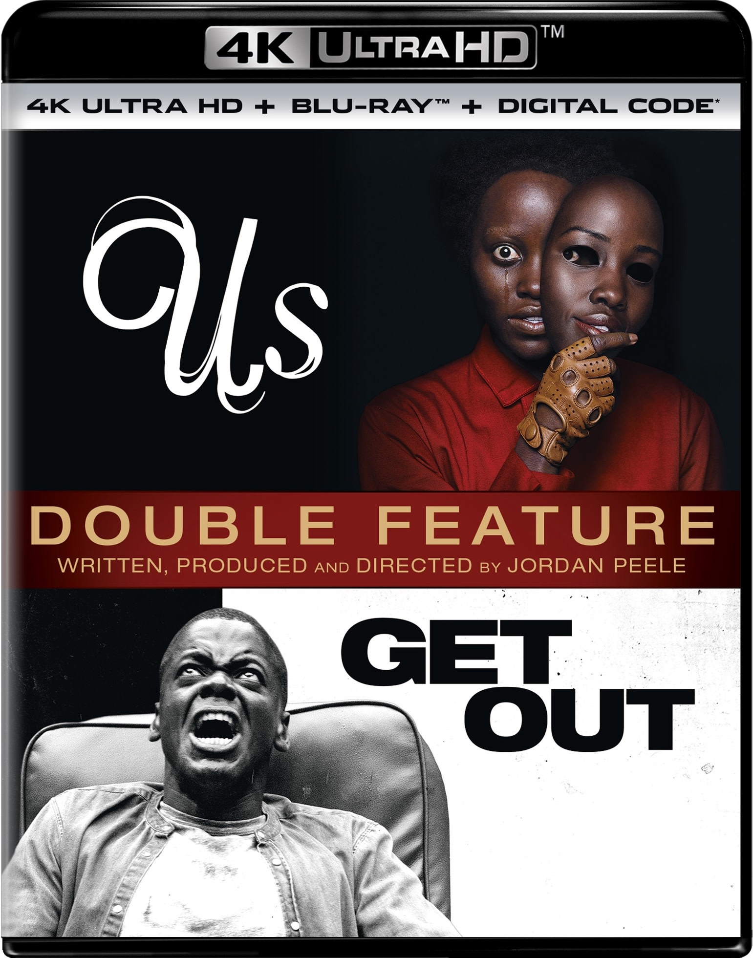 Us / Get Out Double Feature (4K Ultra HD) [UHD]