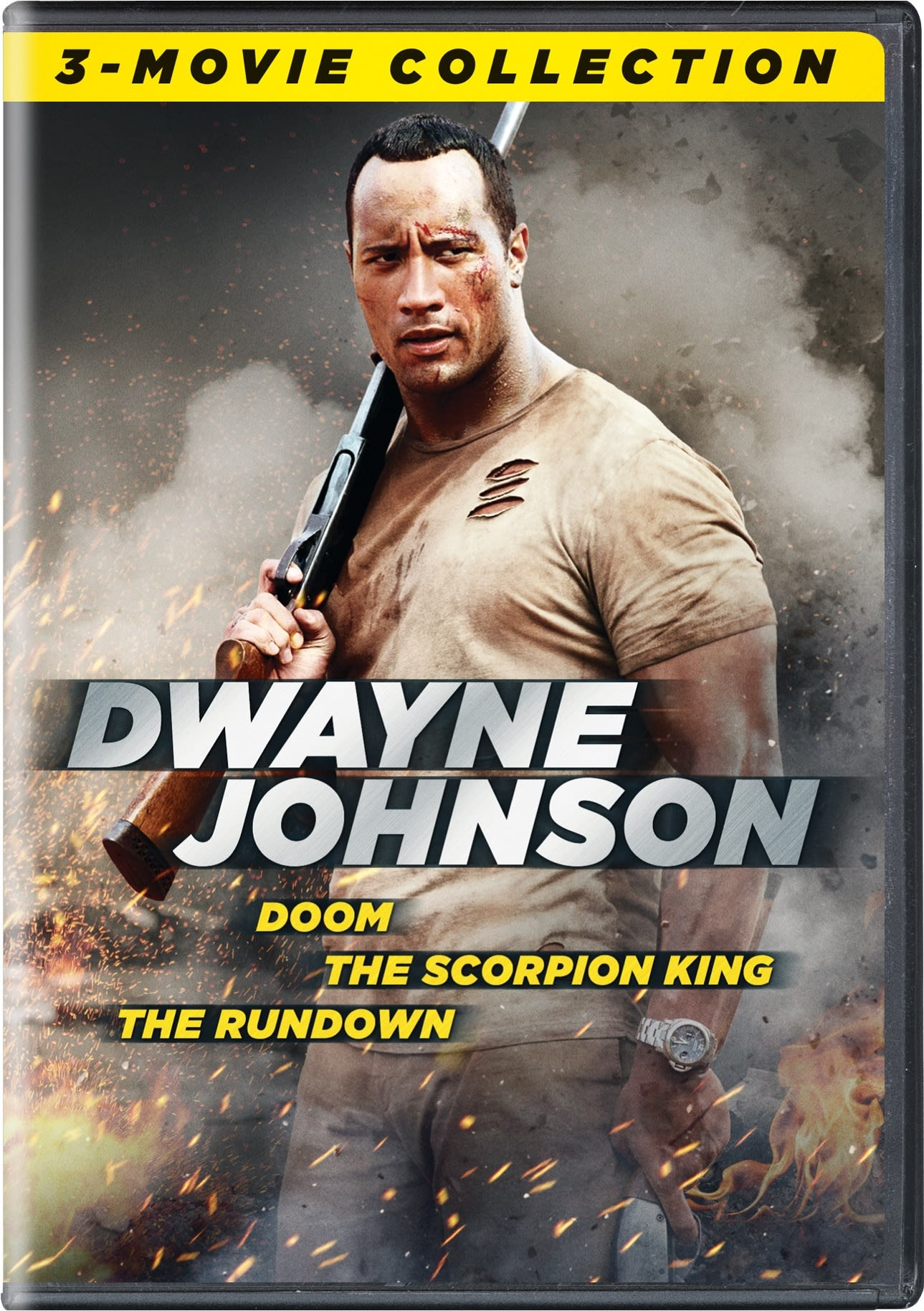 Doom/The Scorpion King/The Rundown [DVD]