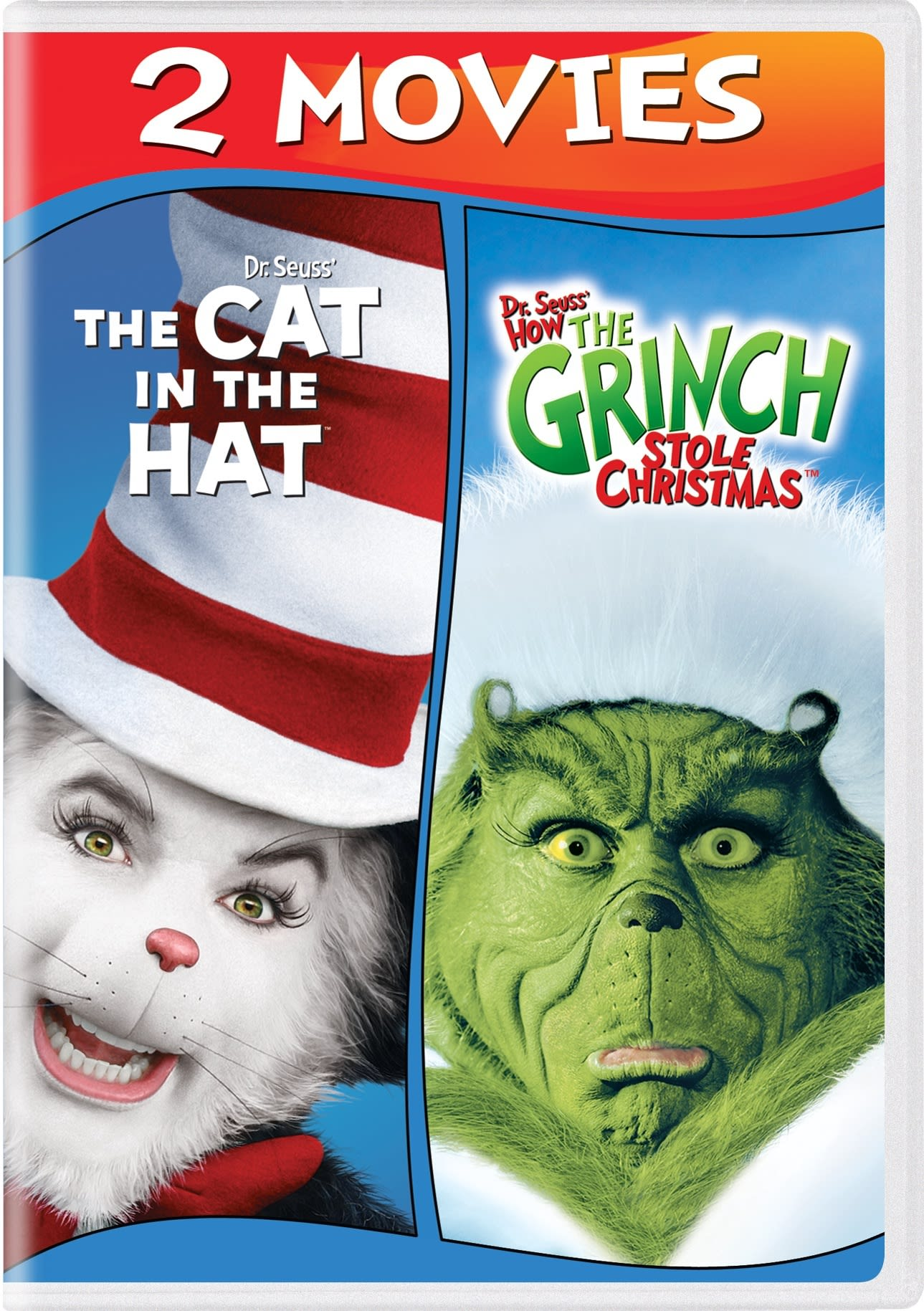 Dr. Seuss' How The Grinch Stole Christmas /The Cat In The Hat [DVD]