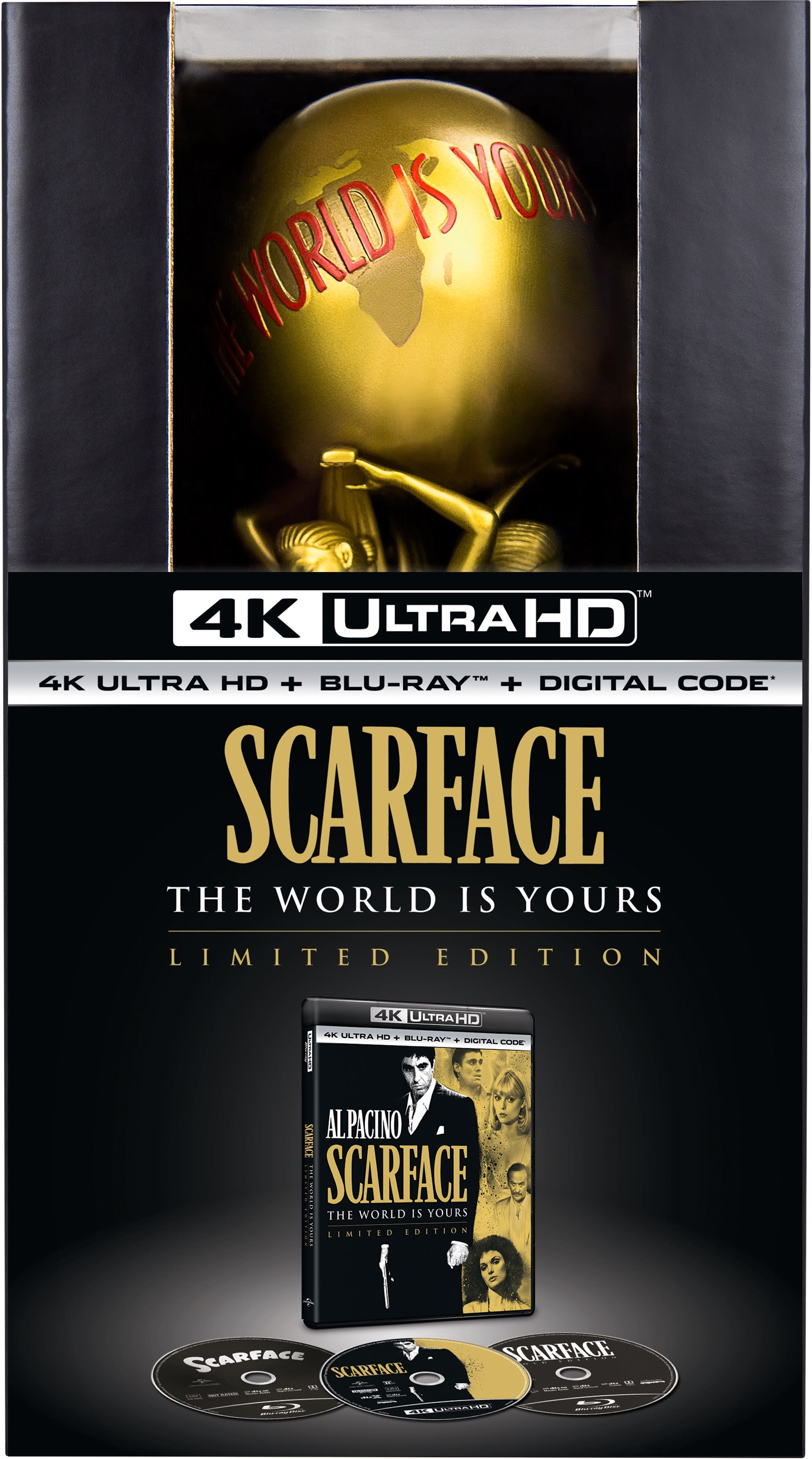 Scarface (4K Ultra HD + Blu-ray + Digital Download (Limited Edition)) [UHD]