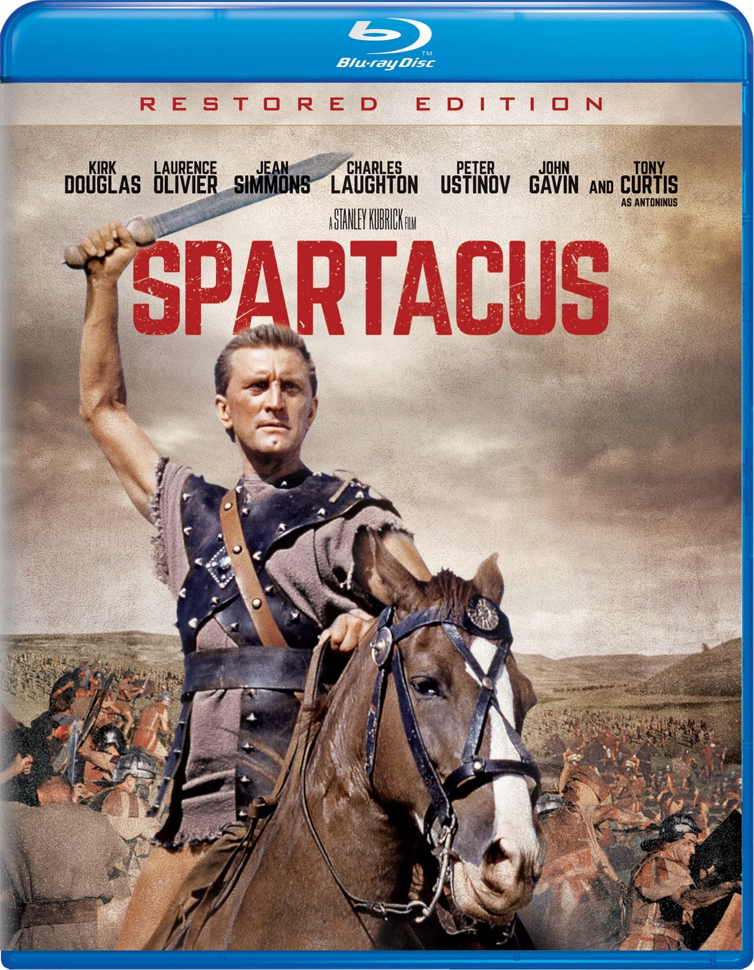 Spartacus (Restored) [Blu-ray]