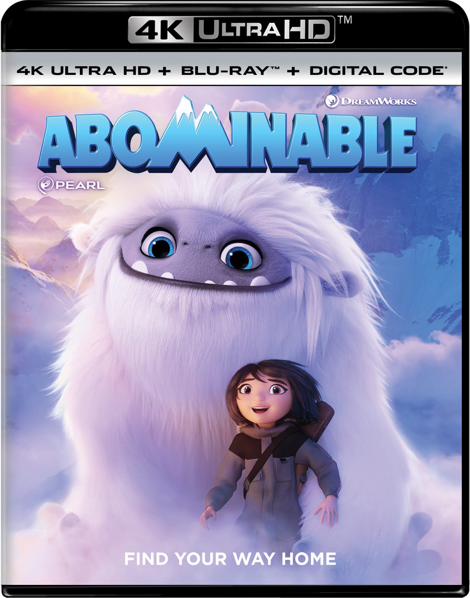 Abominable (4K Ultra HD + Blu-ray + Digital Download) [UHD]