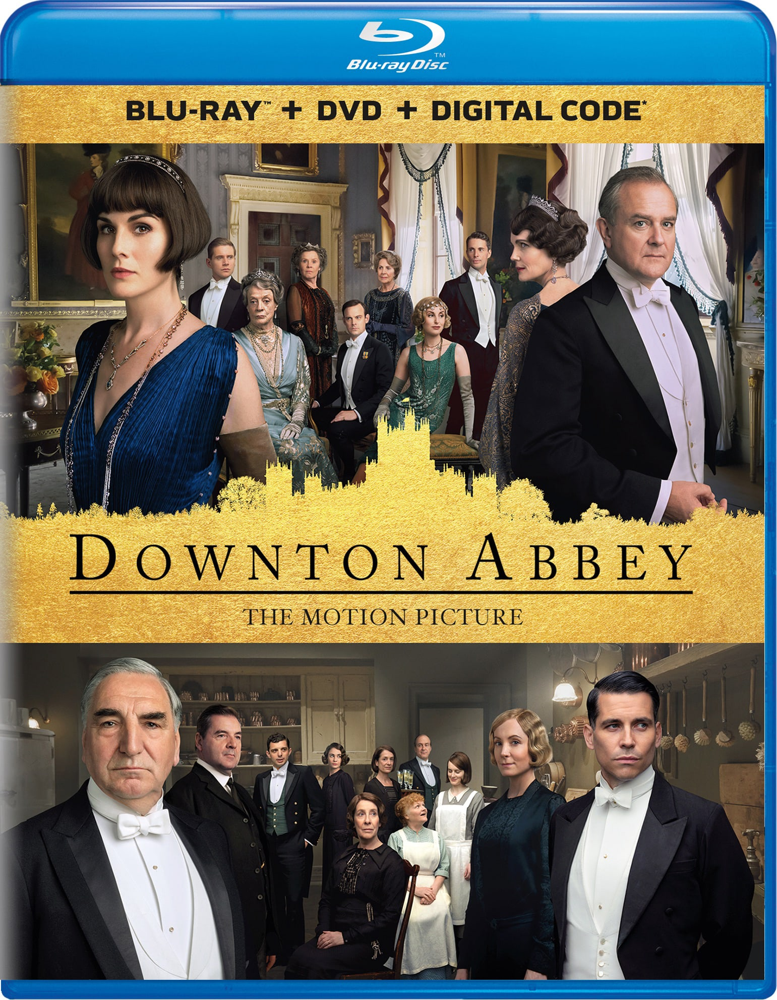 Downton Abbey: The Movie (DVD + Digital) [Blu-ray]