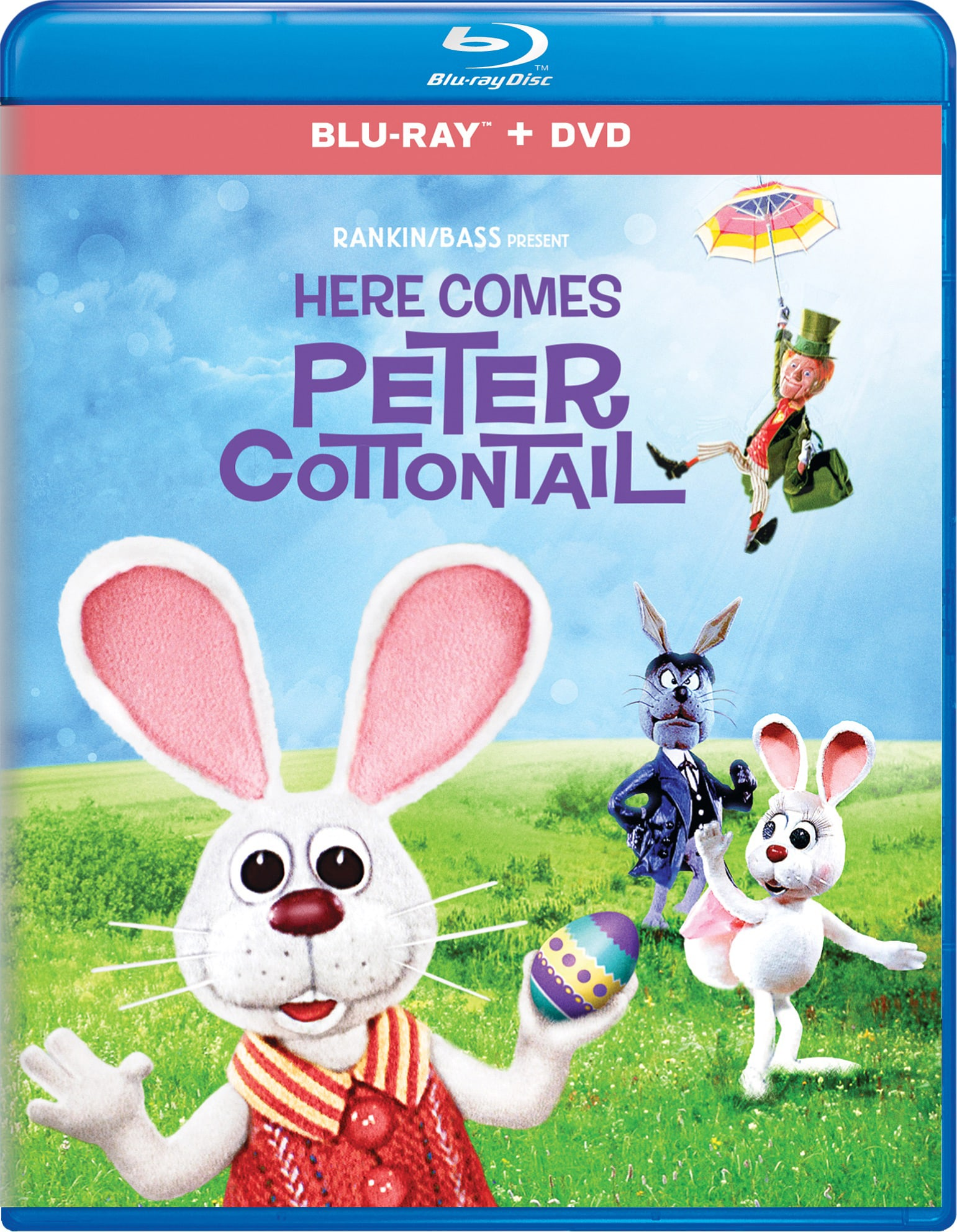 Here Comes Peter Cottontail (Digital) [Blu-ray]