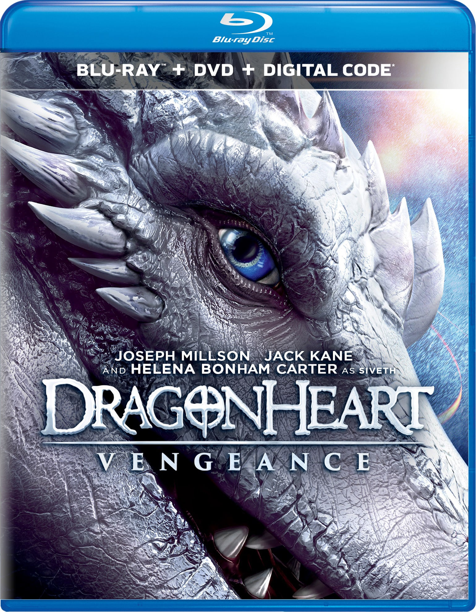 Dragonheart: Vengeance (DVD + Digital) [Blu-ray]