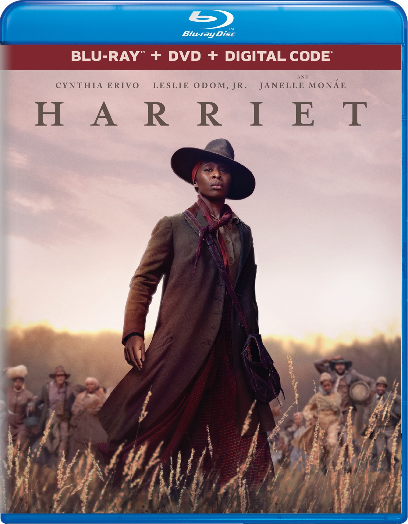 Harriet (DVD + Digital) [Blu-ray]