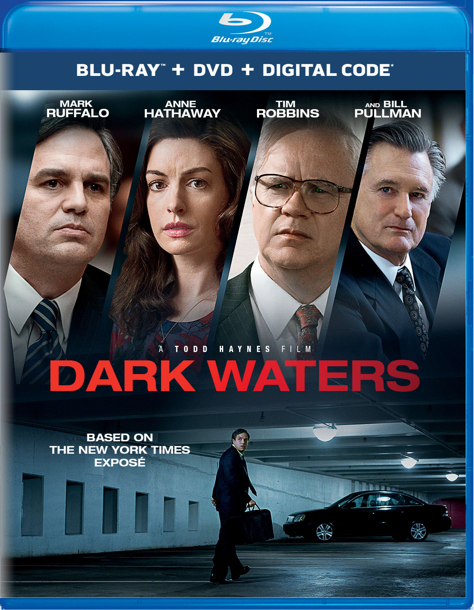 Dark Waters (DVD + Digital) [Blu-ray]