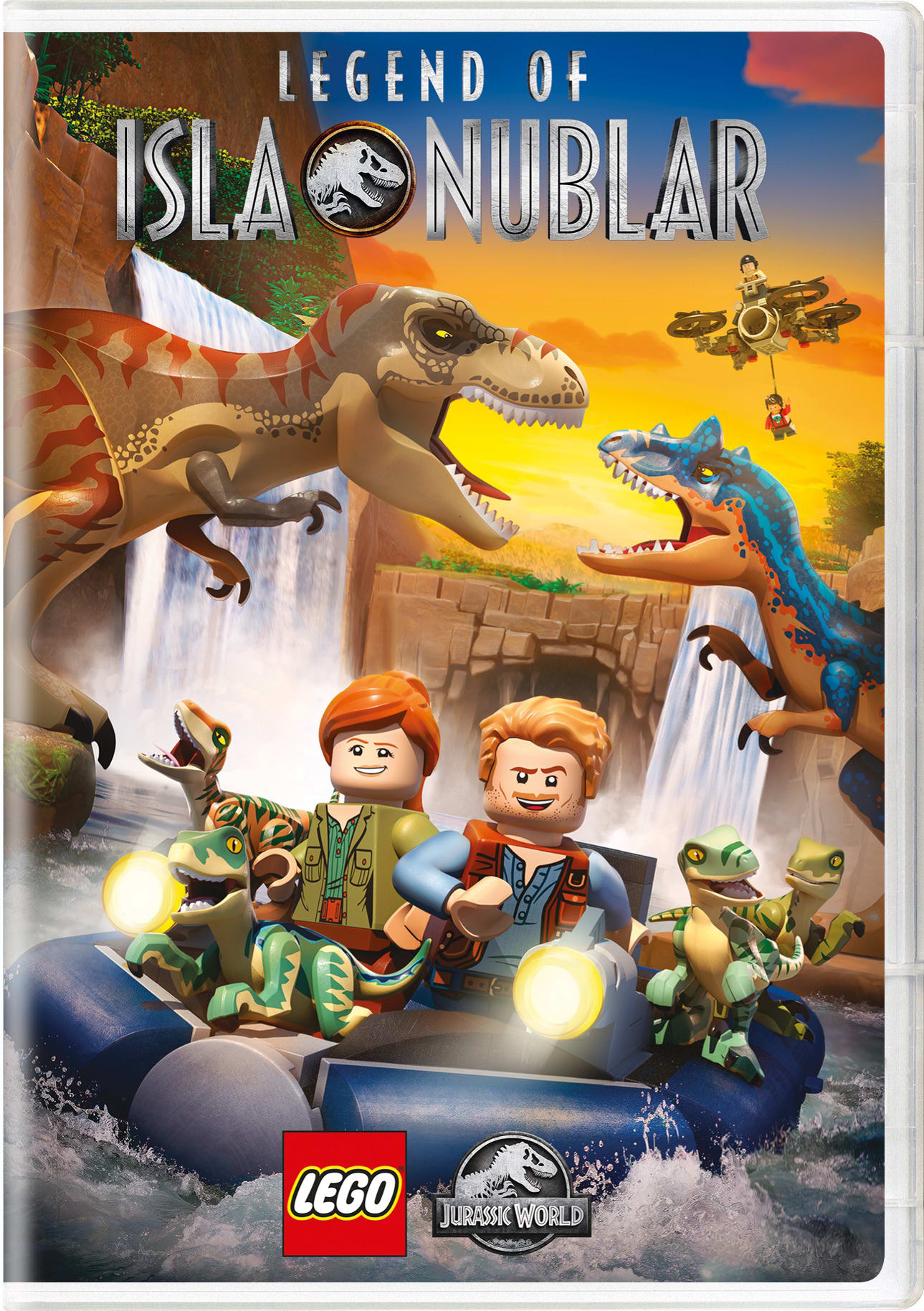 LEGO Jurassic World: Legend of Isla Nublar - Season 1 [DVD]