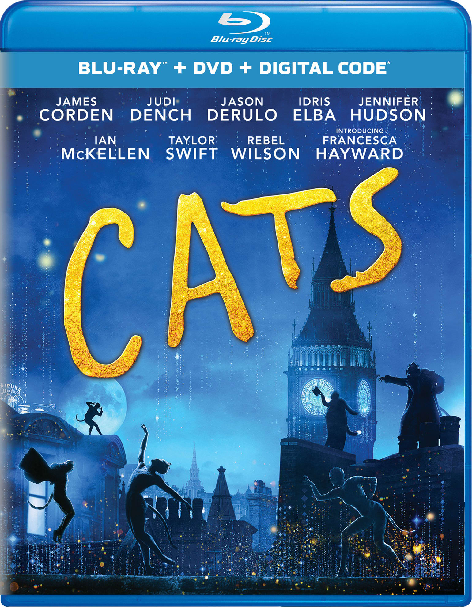 Cats (DVD + Digital) [Blu-ray]