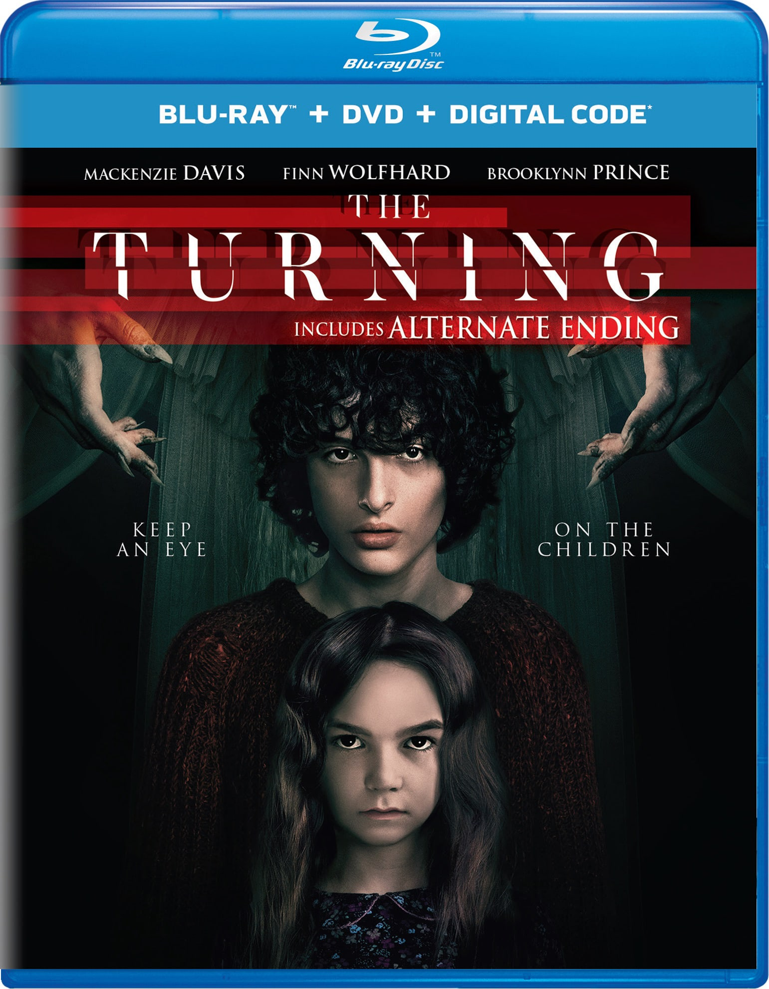 The Turning (DVD + Digital) [Blu-ray]