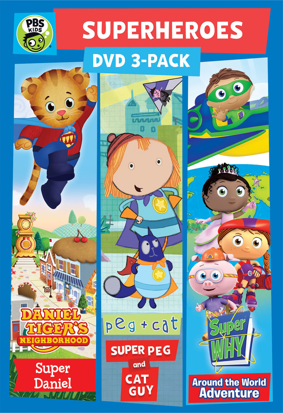 PBS Kids: Super Hero 3 Pack [DVD]