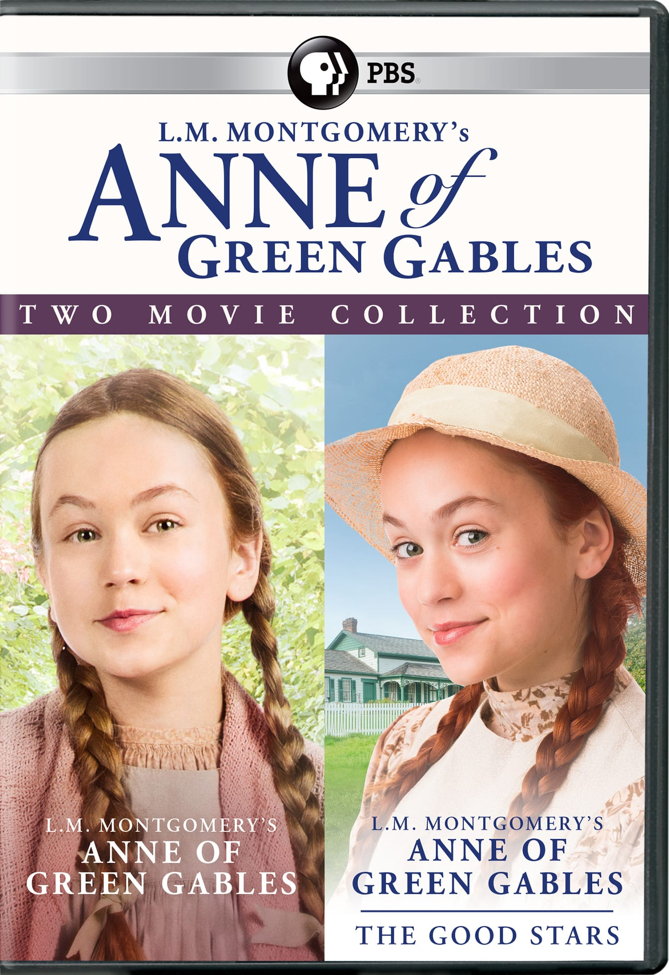 L.M. Montgomery's Anne of Green Gables: Two Movie Collection [DVD]