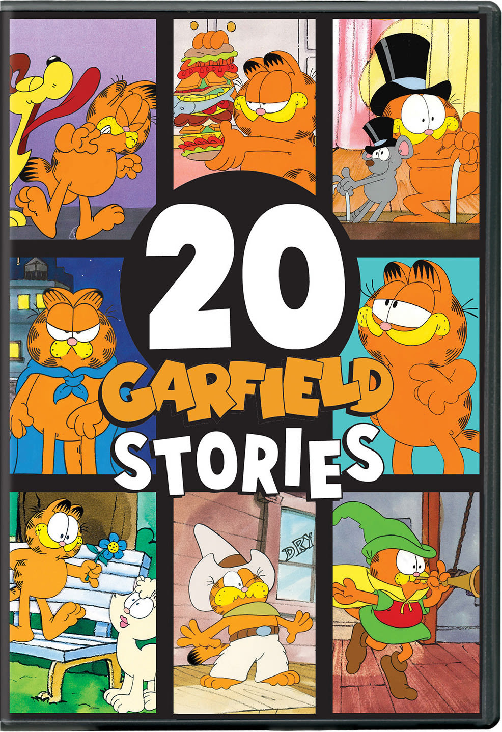 Garfield: 20 Garfield Stories [DVD]