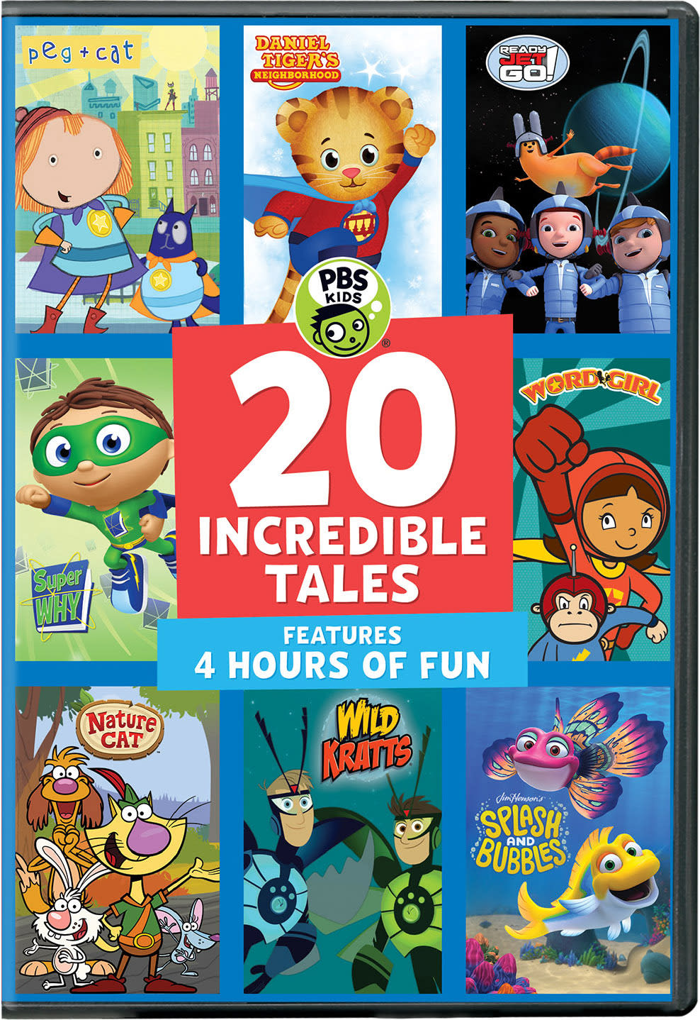 PBS Kids: 20 Incredible Tales [DVD]