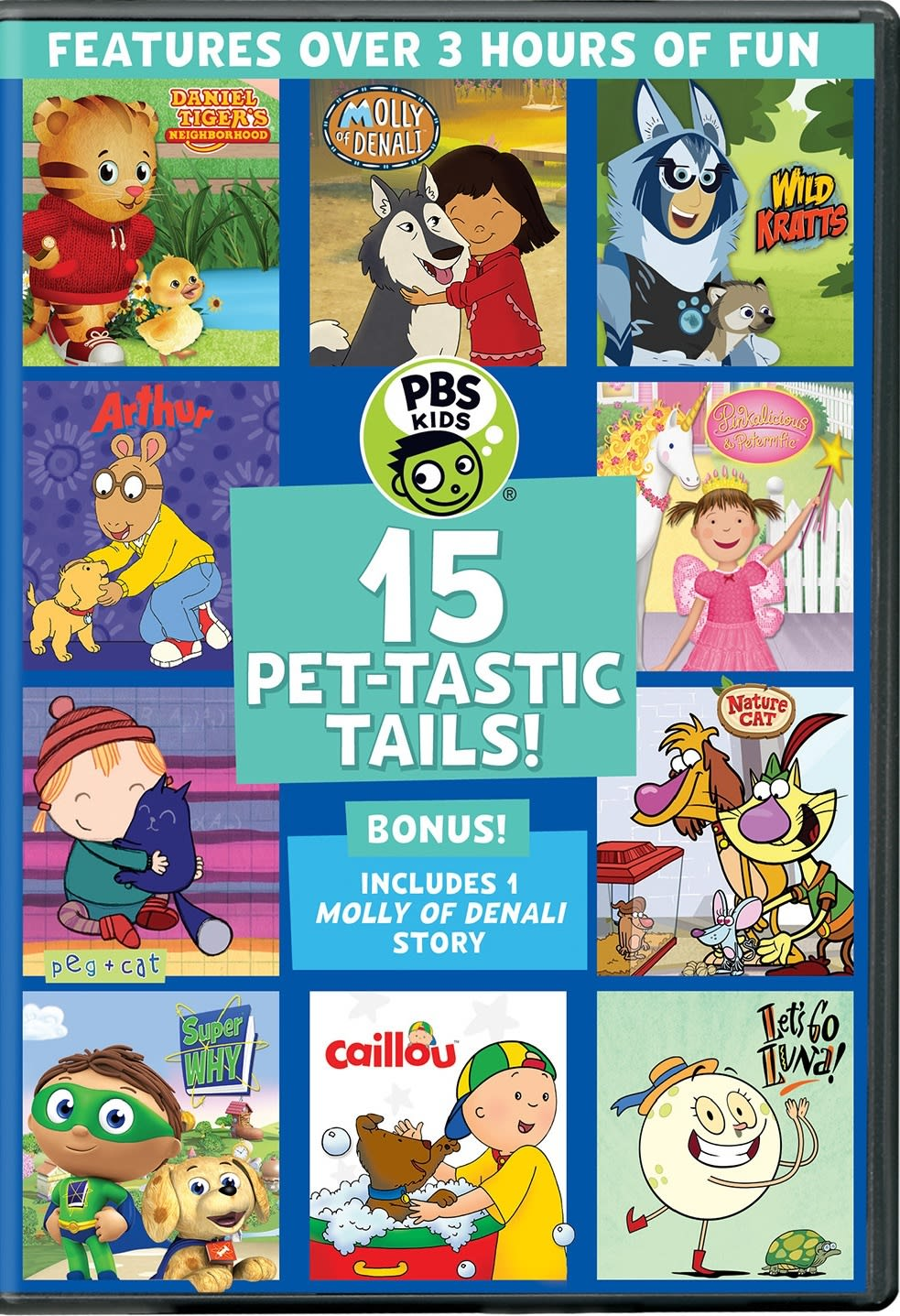 PBS Kids: 15 Pet-tastic Tails! [DVD]