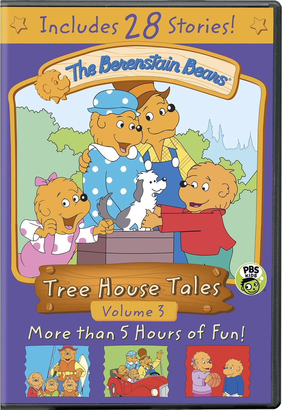 The Berenstain Bears: Tree House Tales - Volume 3 [DVD]