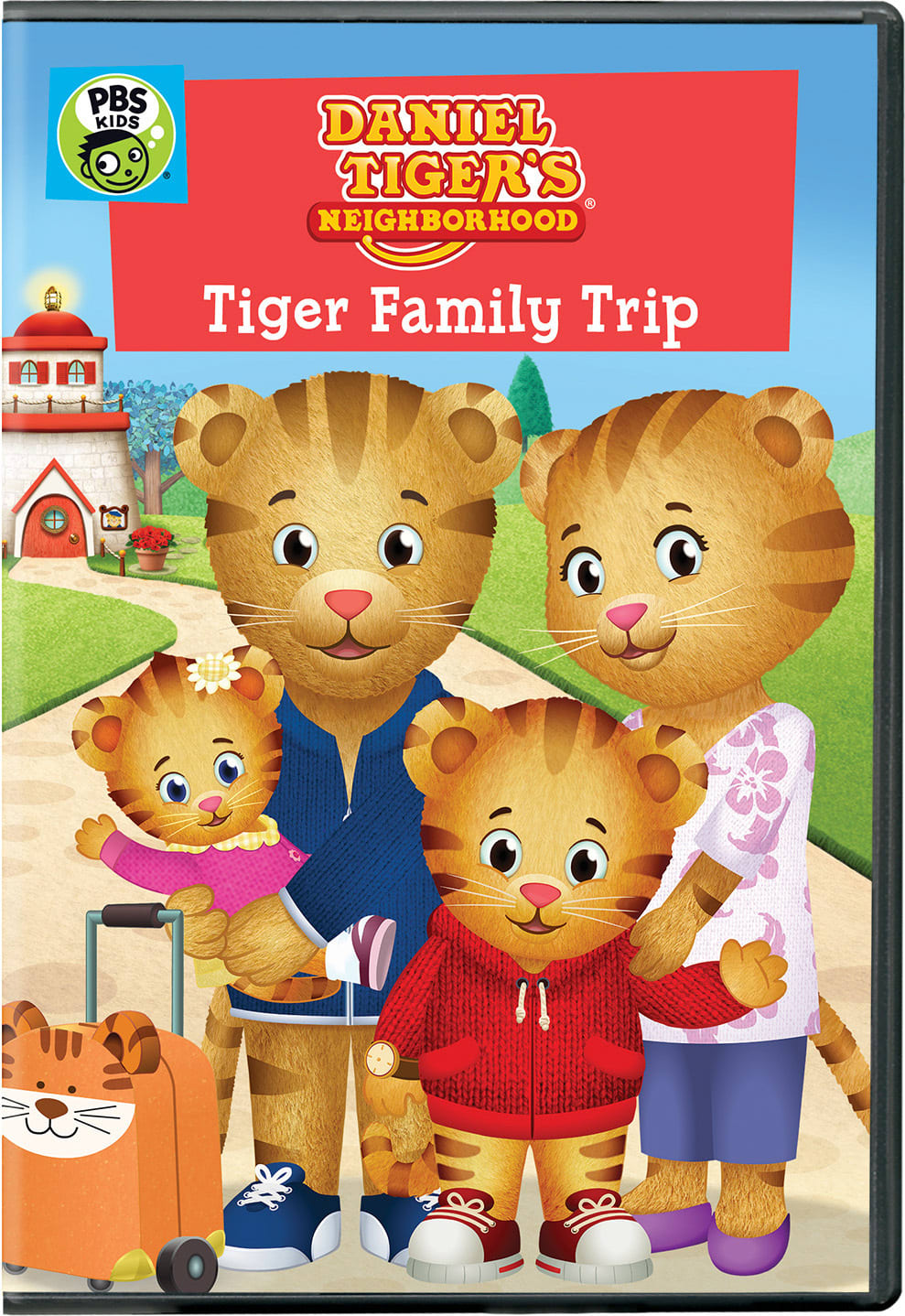 Daniel Tiger's Neighborhood: Tiger Family Trip [DVD]