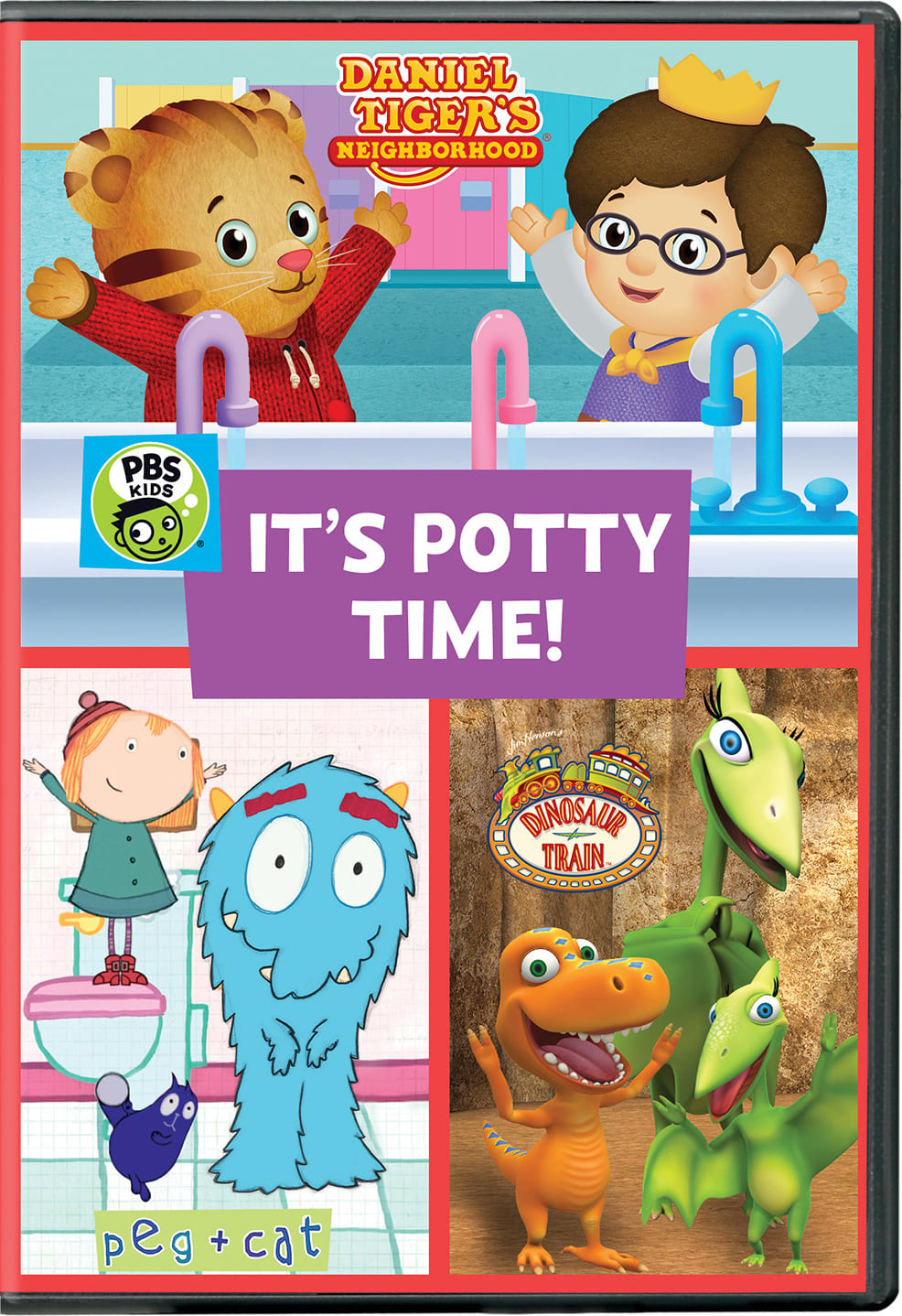 PBS Kids: It's Potty Time! [DVD]