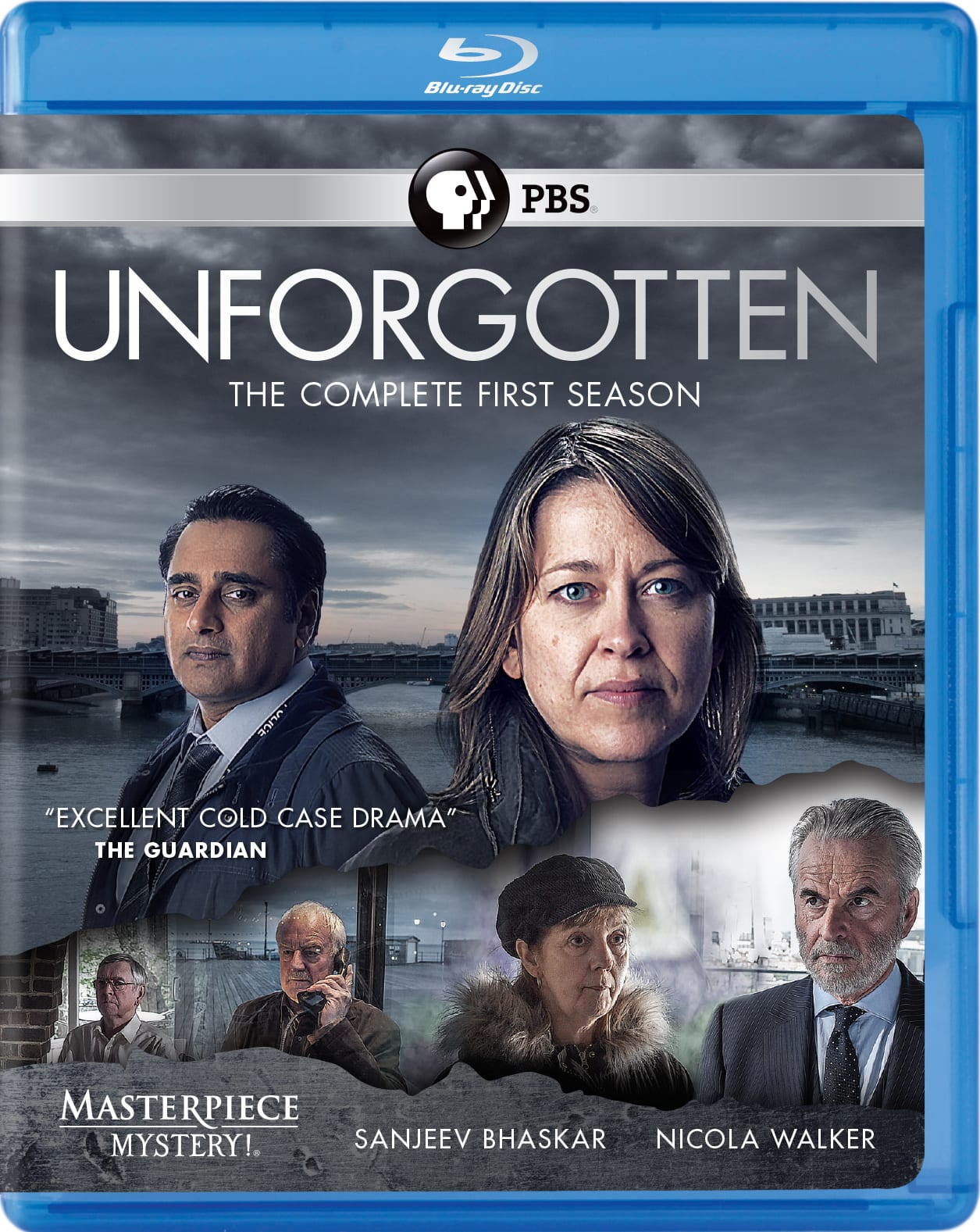 Masterpiece Mystery!: Unforgotten - The Complete First Season [Blu-ray]