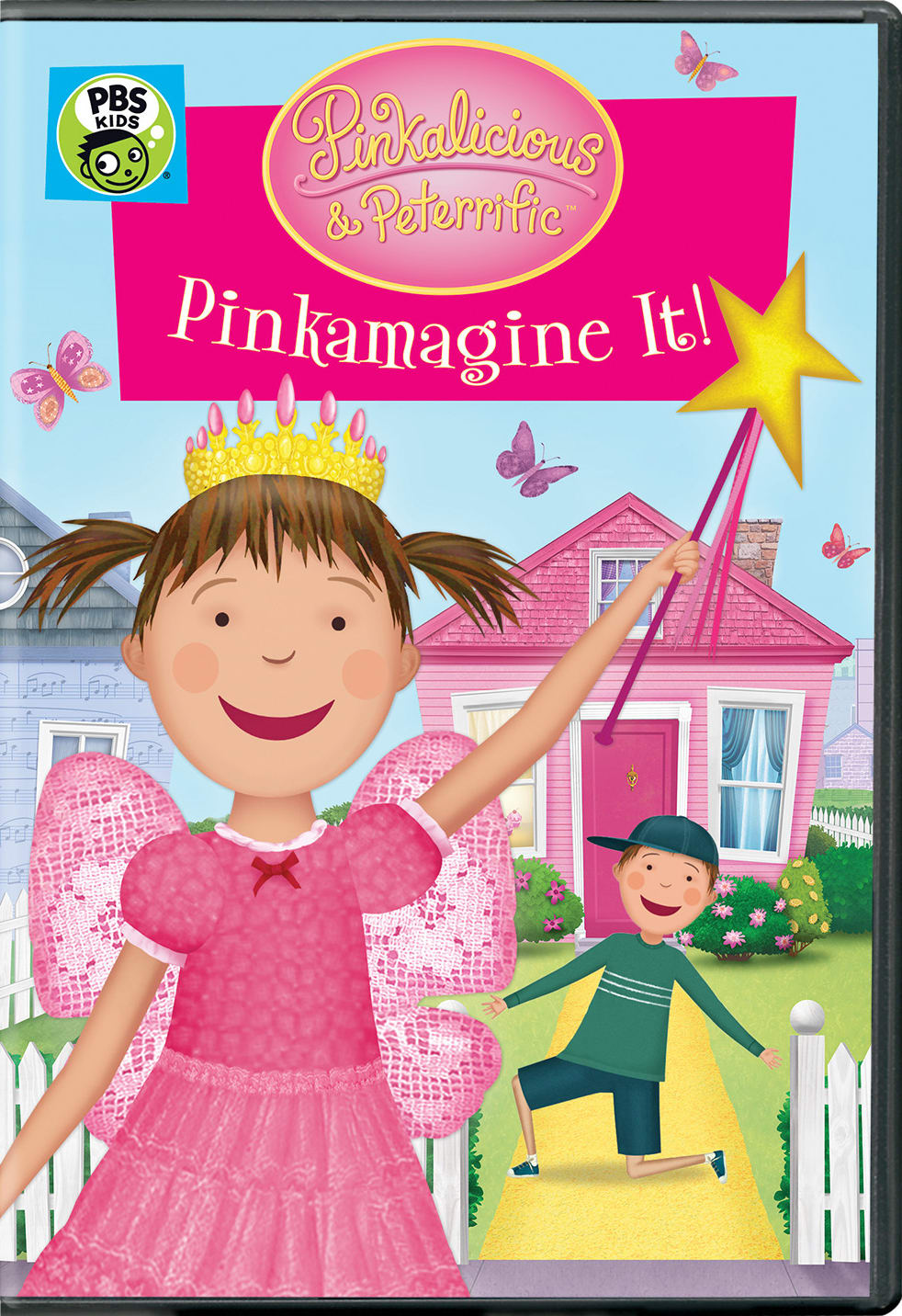 Pinkalicious & Peterrific: Pinkamagine It! [DVD]
