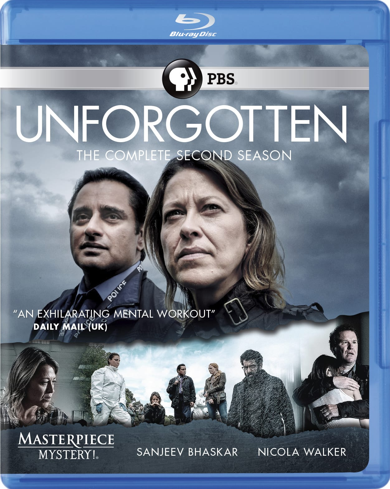 Masterpiece Mystery!: Unforgotten - The Complete Second Season [Blu-ray]