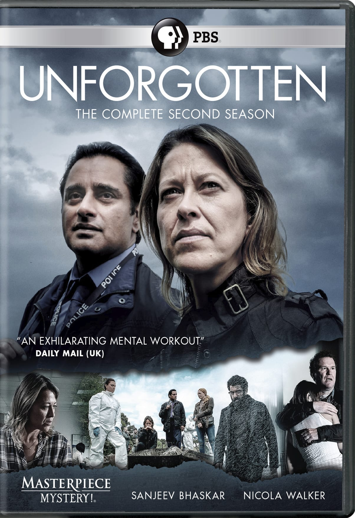 Masterpiece Mystery!: Unforgotten - The Complete Second Season (2018) [DVD]