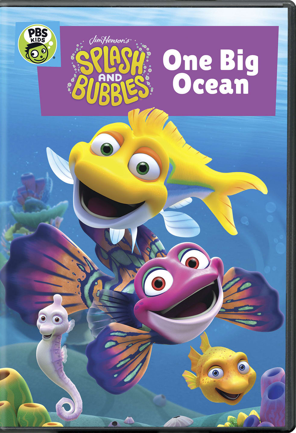 Splash and Bubbles: One Big Ocean [DVD]