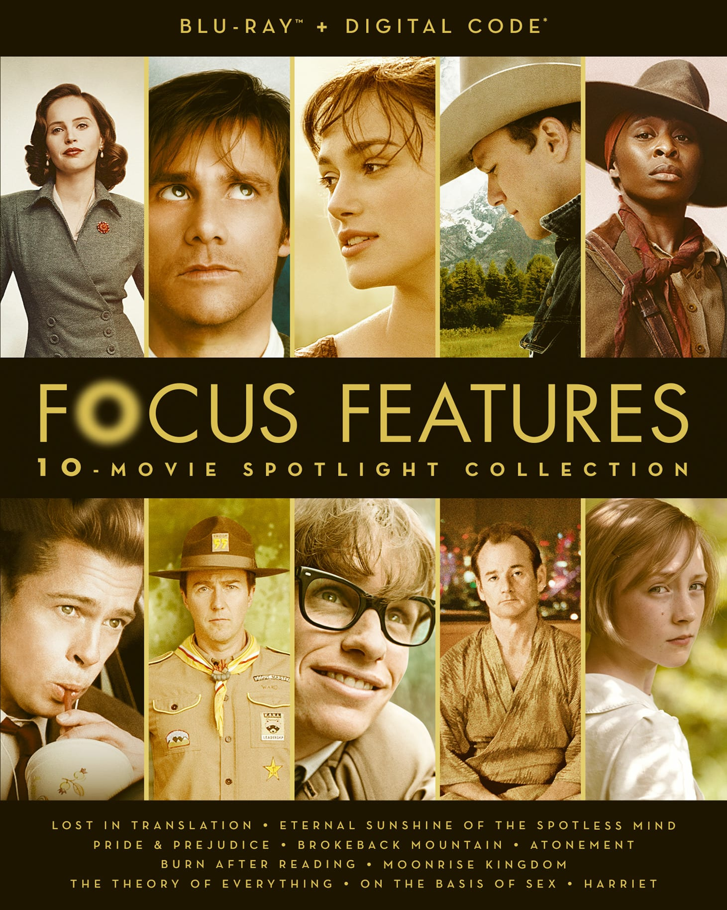 Focus Features 10-Movie Spotlight Collection [Blu-ray]