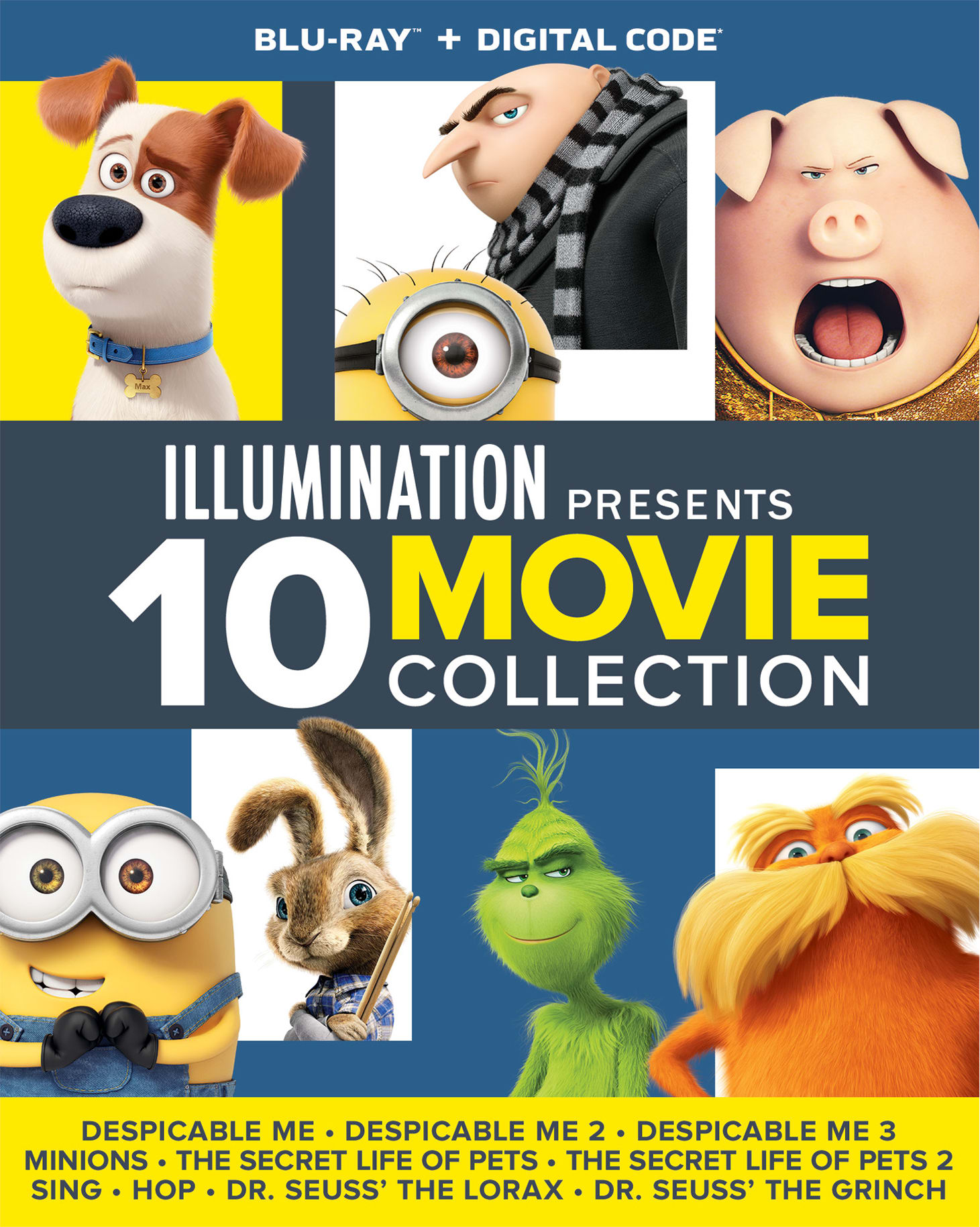 Illumination Presents: 10-Movie Collection [Blu-ray]