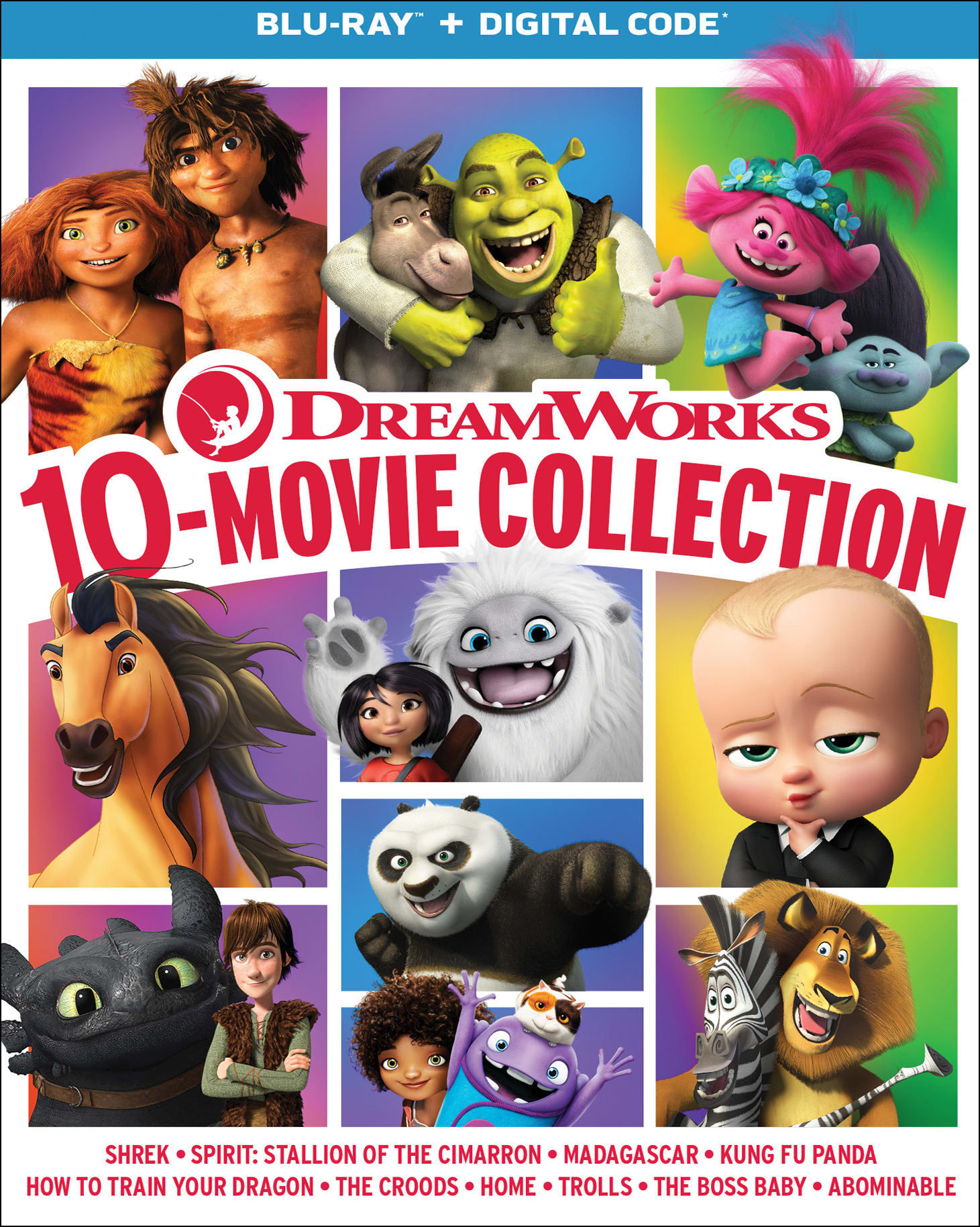 DreamWorks 10-Movie Collection [Blu-ray]