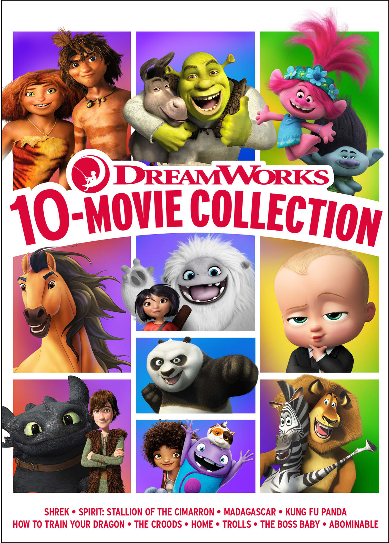DreamWorks 10-Movie Collection [DVD]