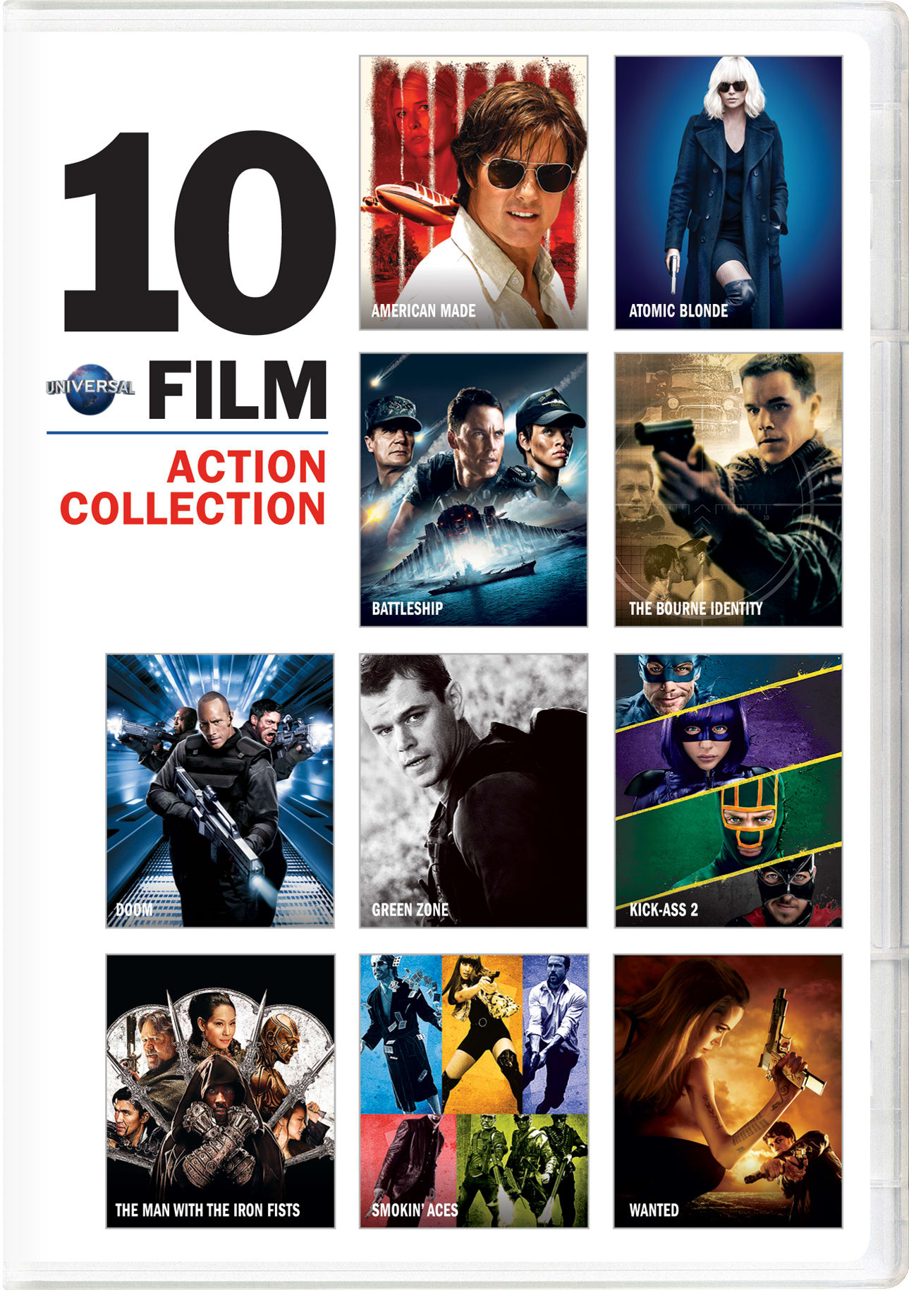 Universal 10-Film Action Collection [DVD]