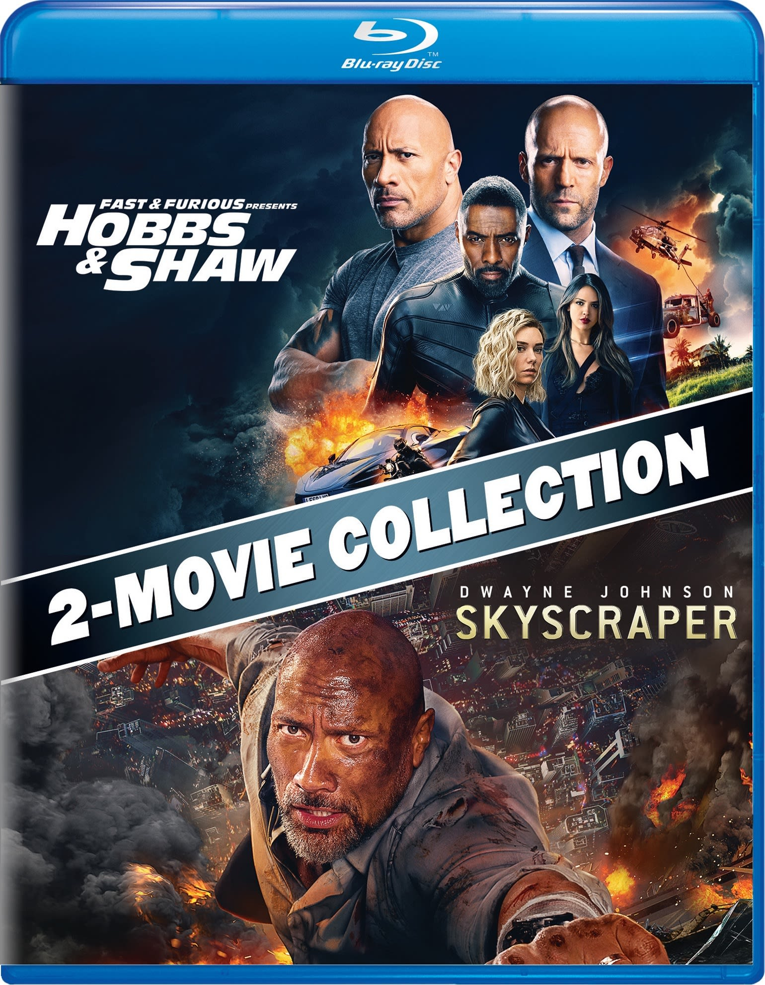 Fast & Furious Presents: Hobbs & Shaw/Skyscraper [Blu-ray]