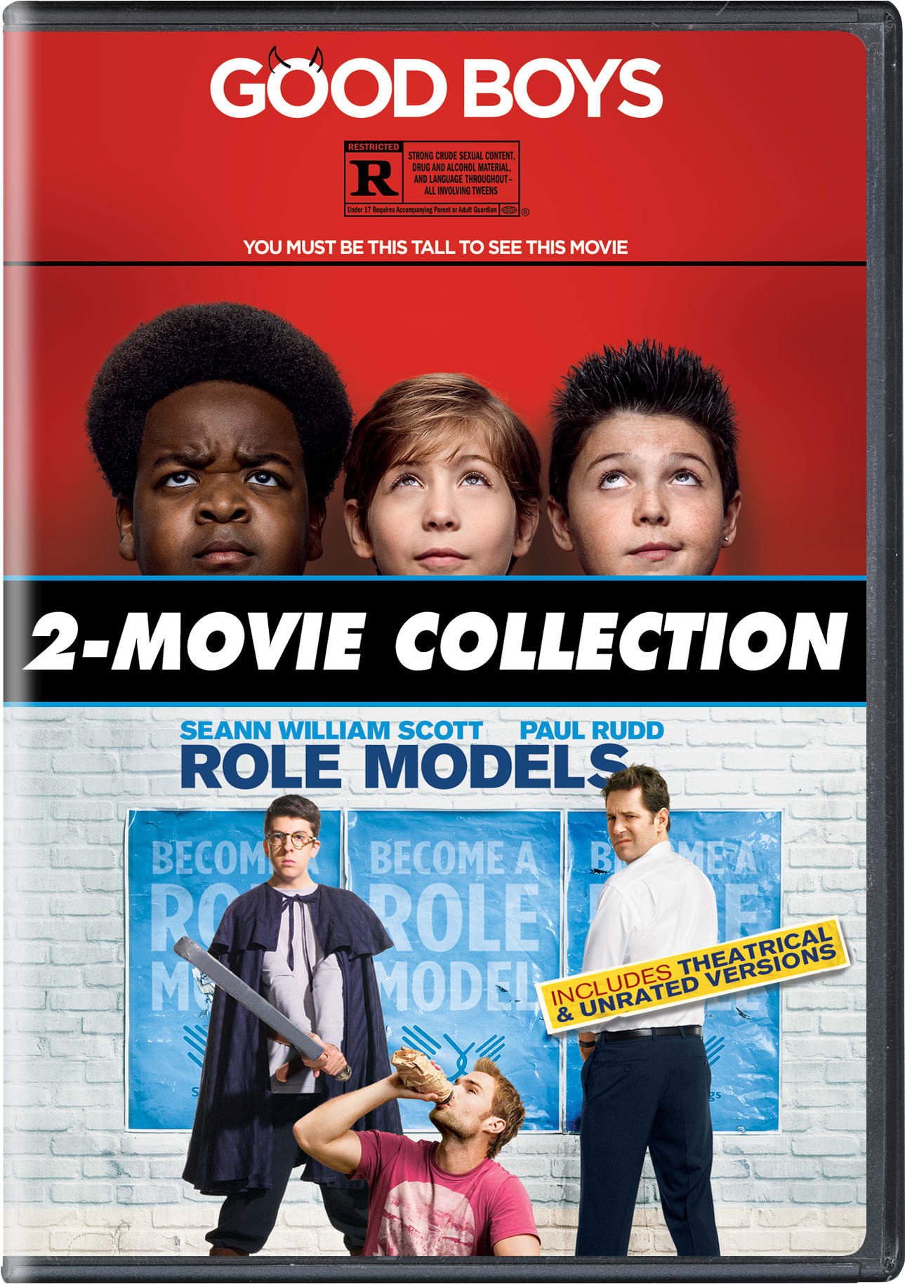 Good Boys/Role Models [DVD]