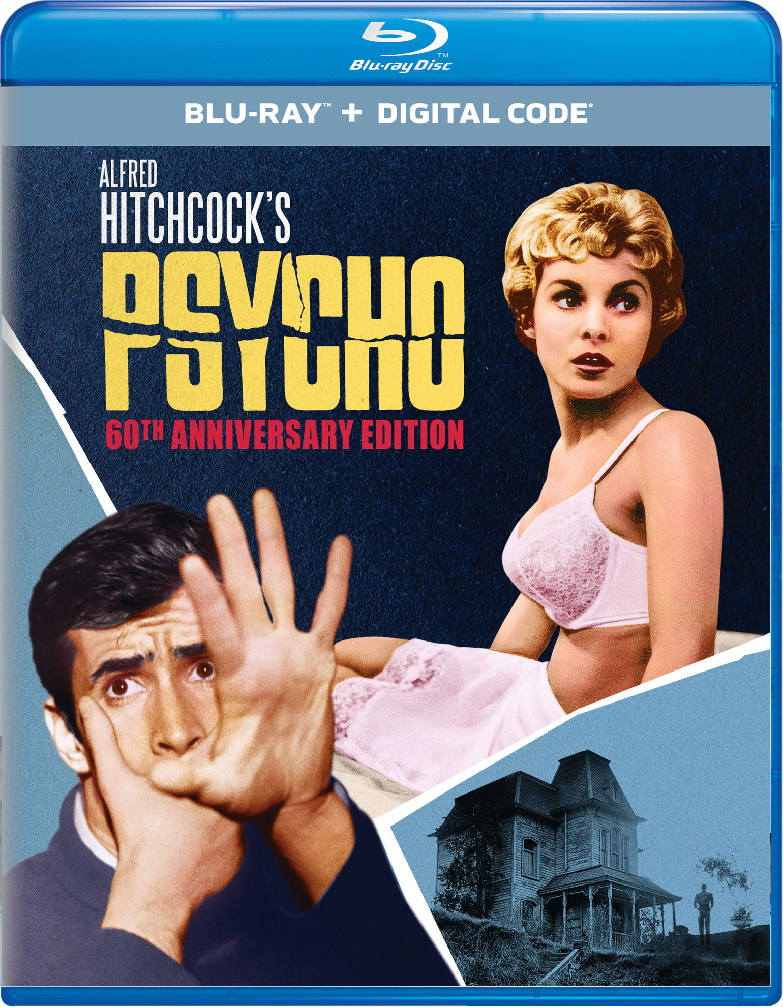 Psycho (60th Anniversary Edition) [Blu-ray]