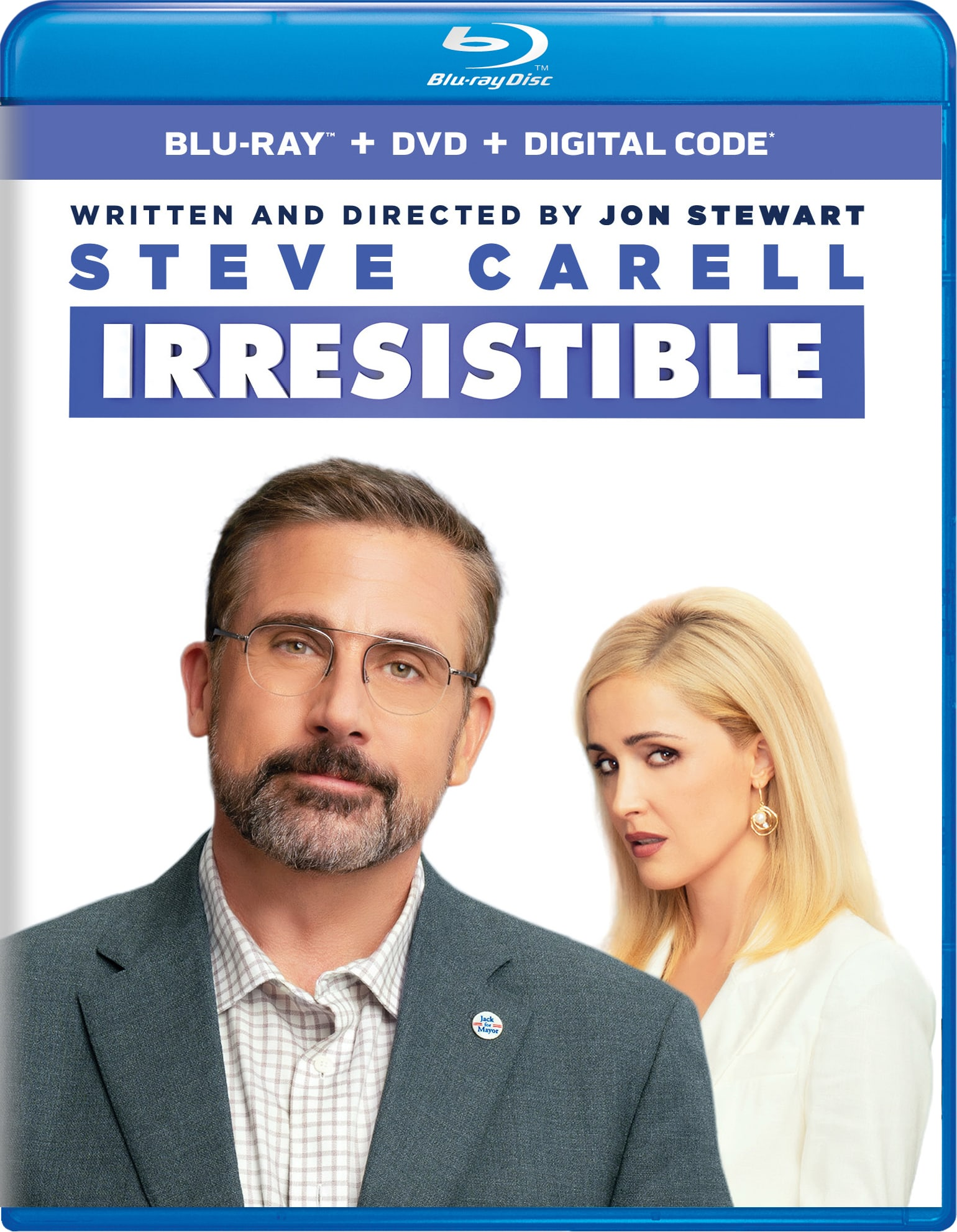 Irresistible (DVD + Digital) [Blu-ray]