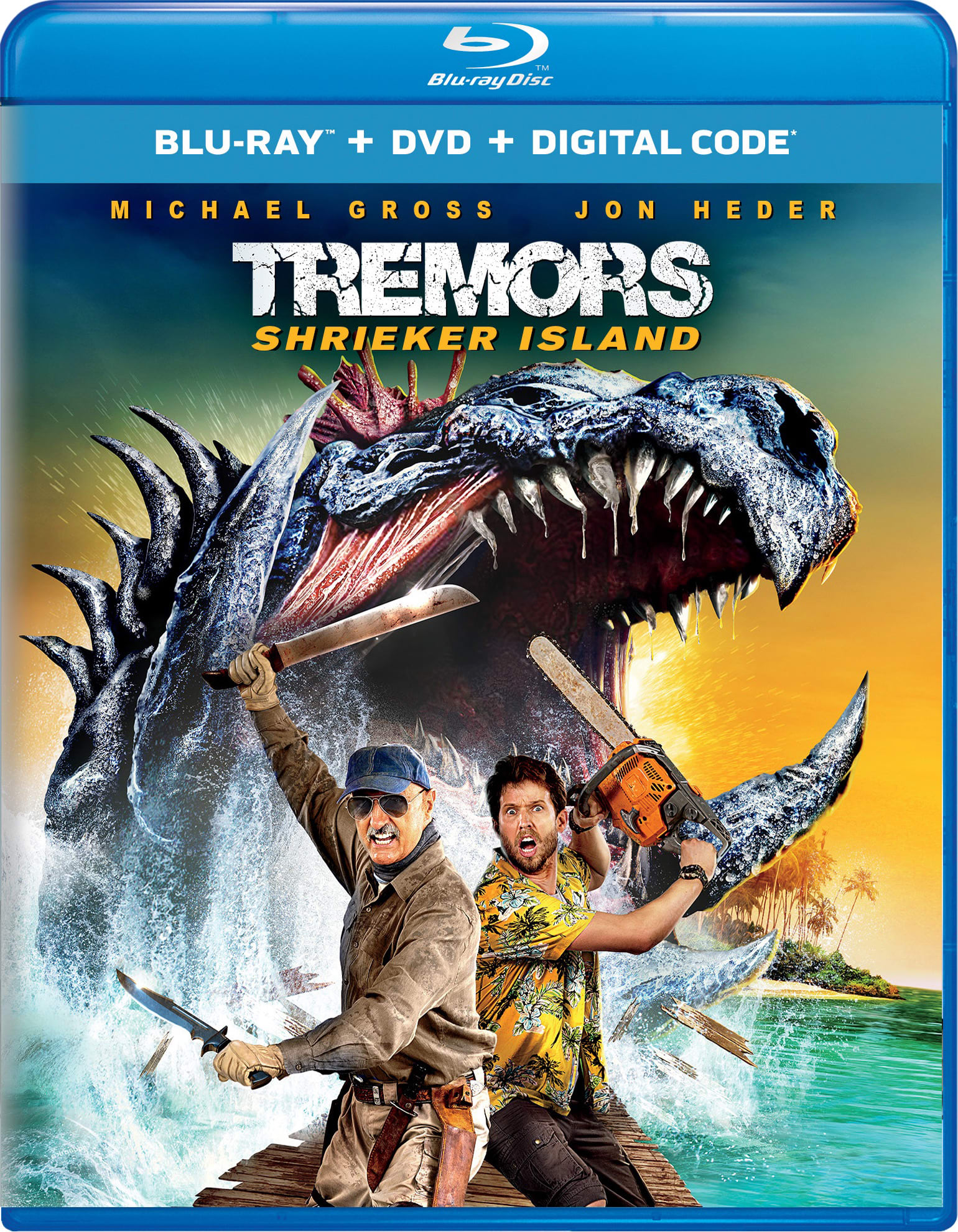Tremors: Shrieker Island (Digital) [Blu-ray]