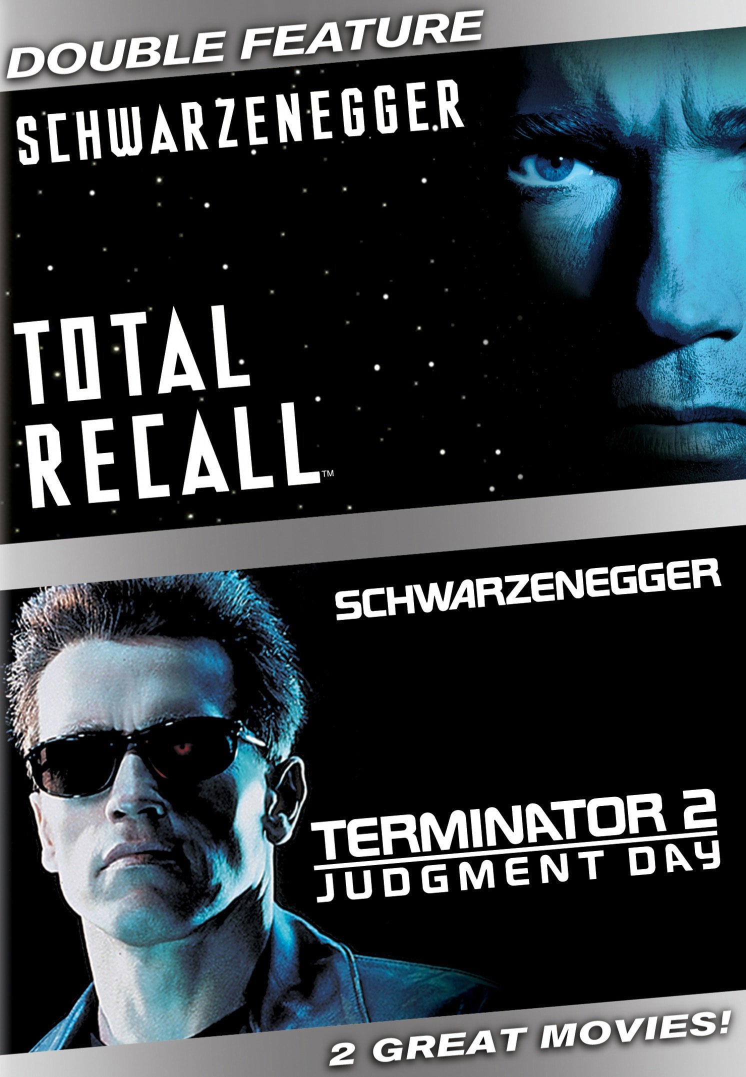 Terminator 2 - Judgement Day/Total Recall [DVD]