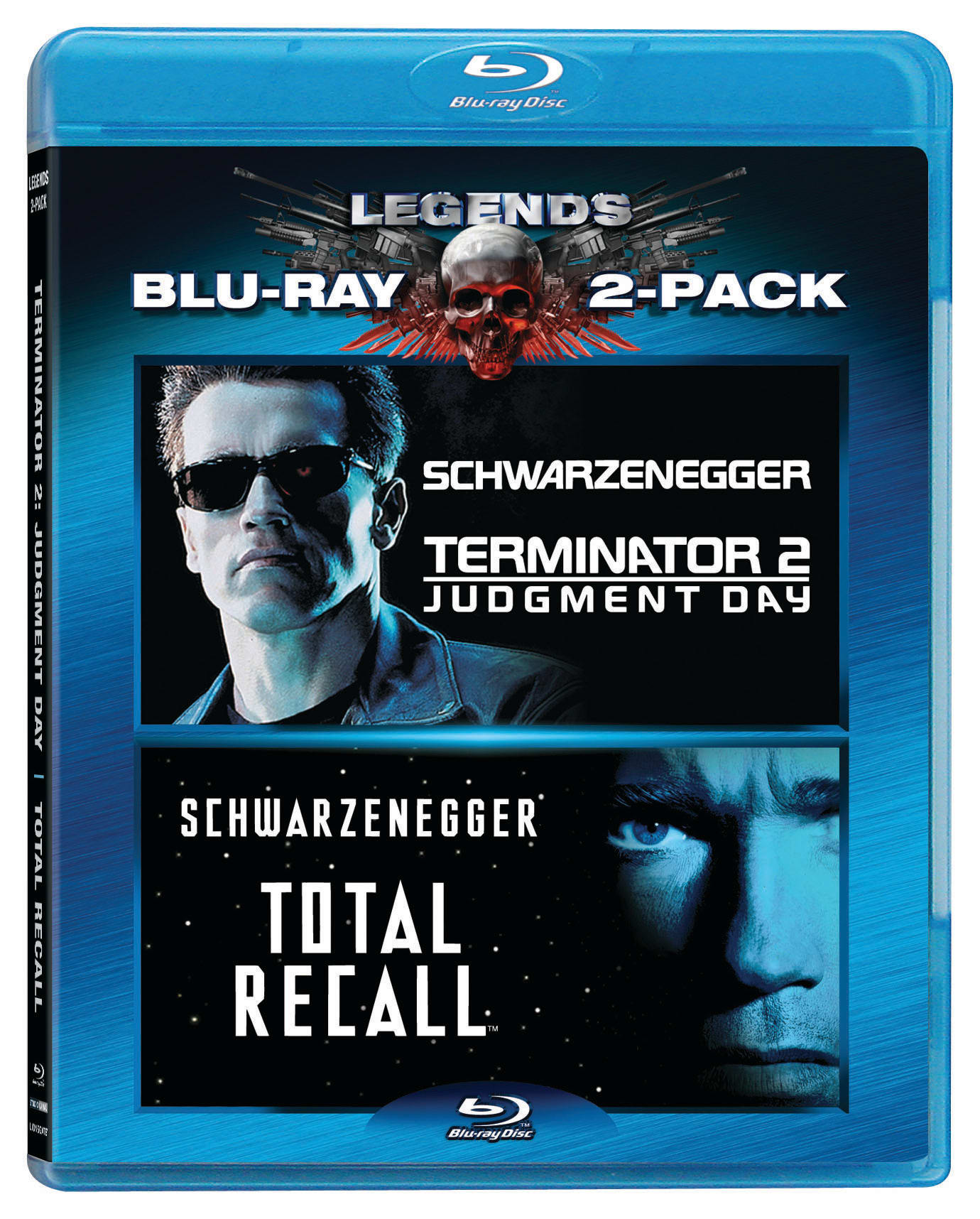 Terminator 2 - Judgement Day/Total Recall [Blu-ray]